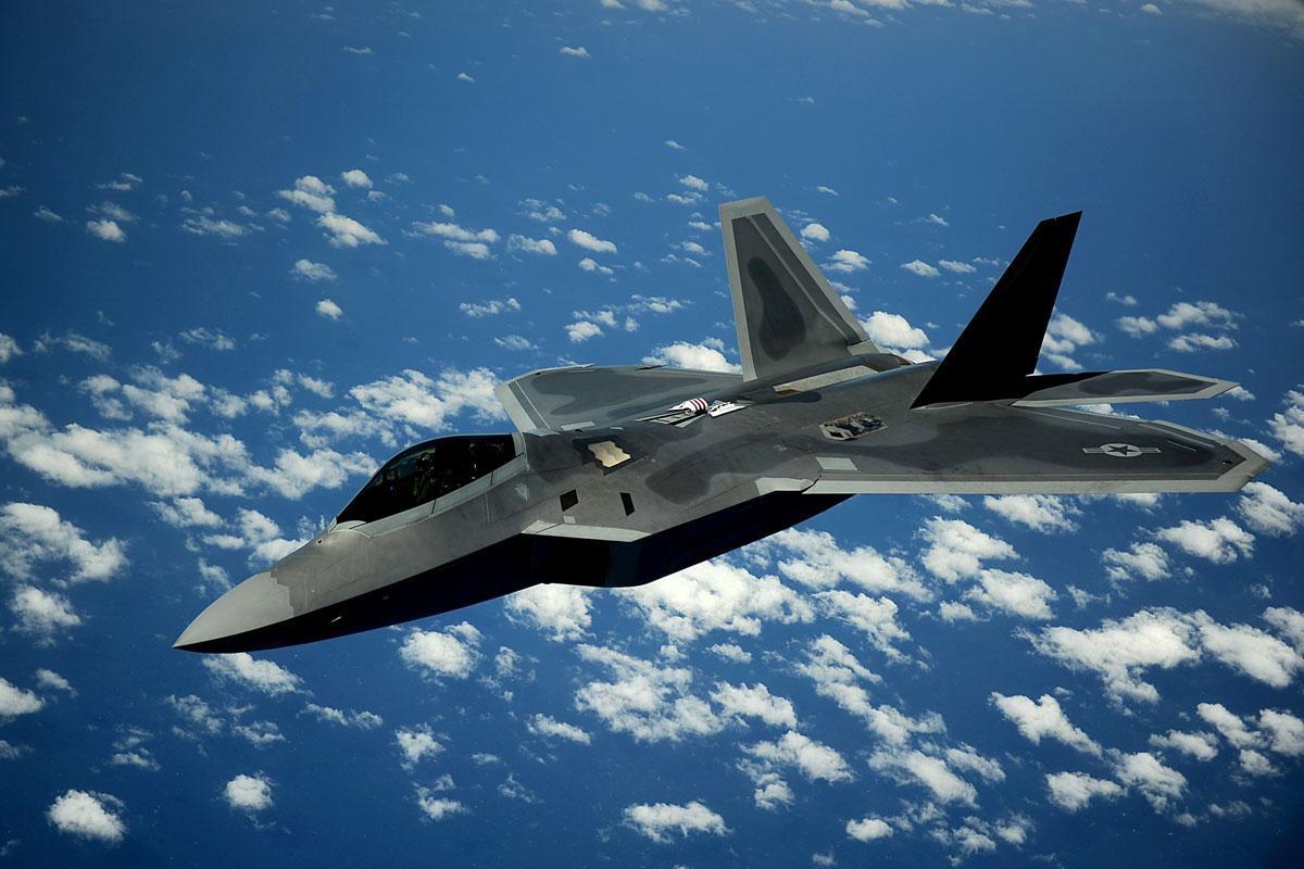 F 22 Raptor Military Com