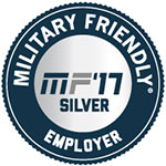 Military Friendly Employer 2017 Silver