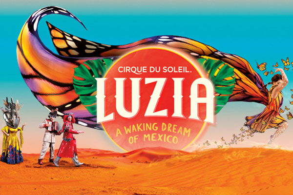 Luzia By Cirque Du Soleil Offers Military Prices