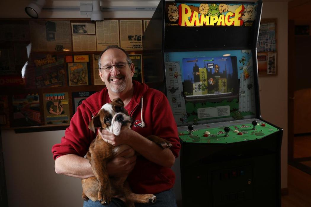 Before The Movie Rampage Video Game Offered Destruction Without