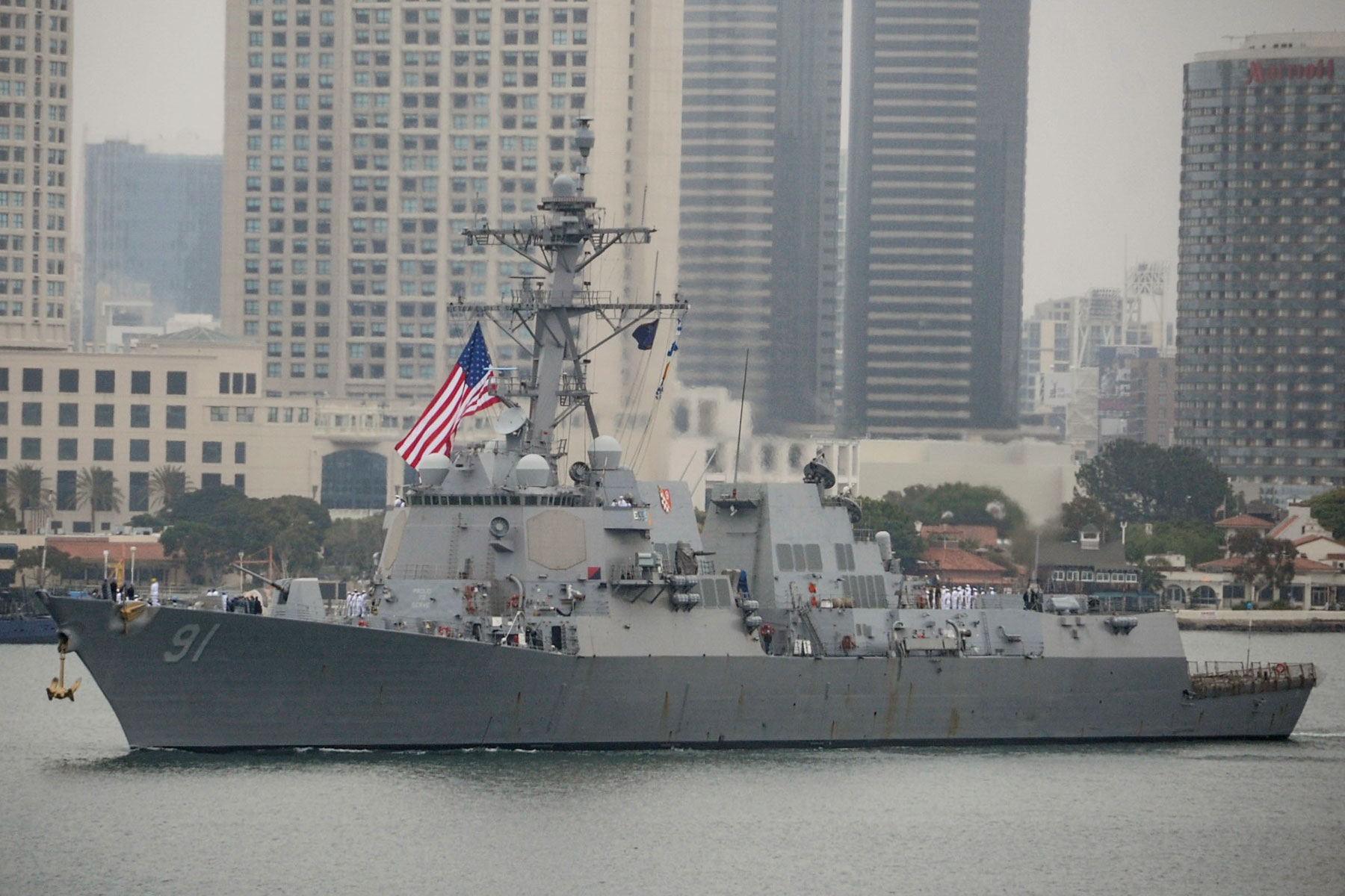 Sailor Charged with Possessing 20 Hand Grenades Stolen from Destroyer