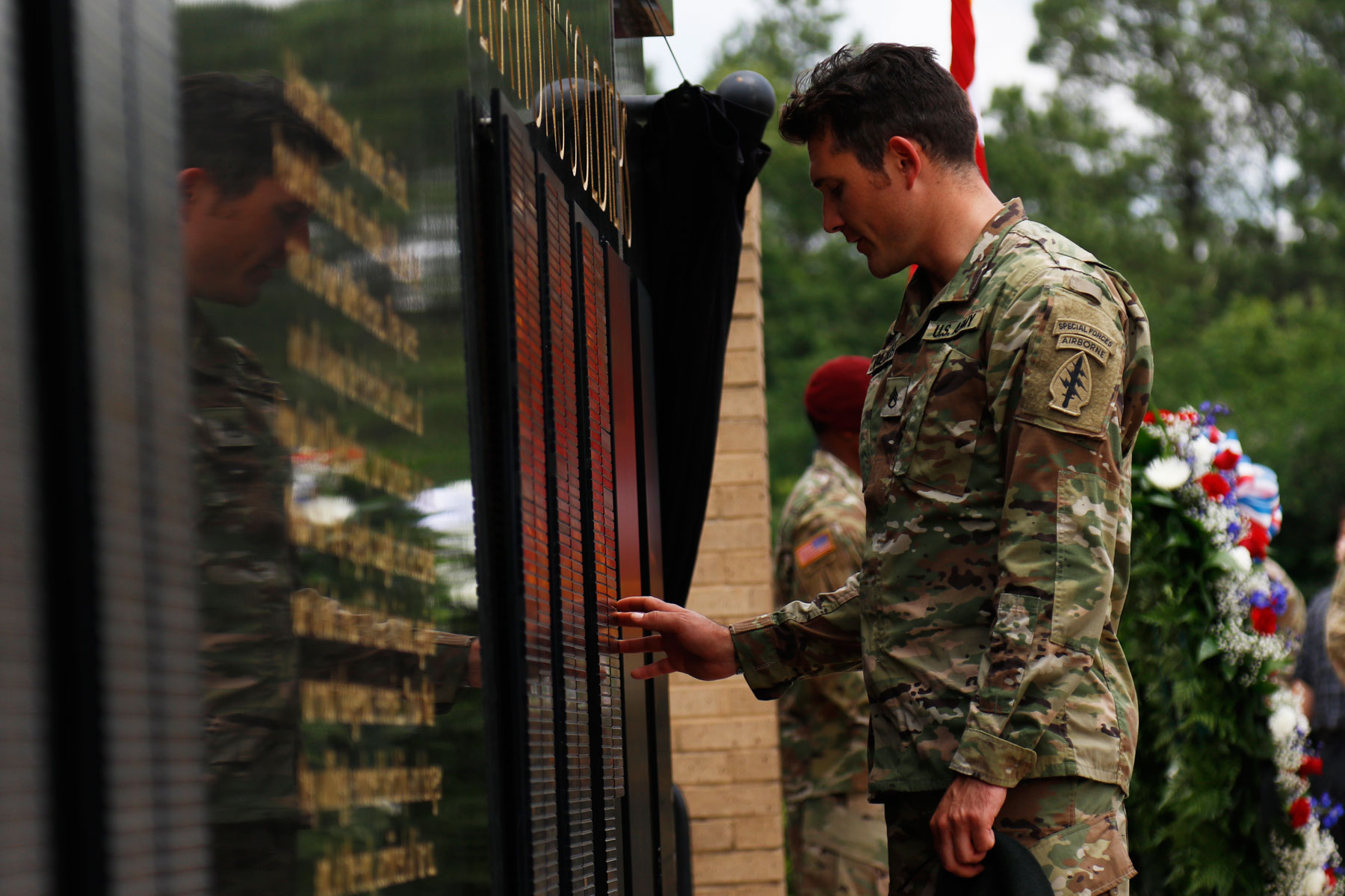 12 Army Special Operations Soldiers Honored in Fort Bragg Memorial