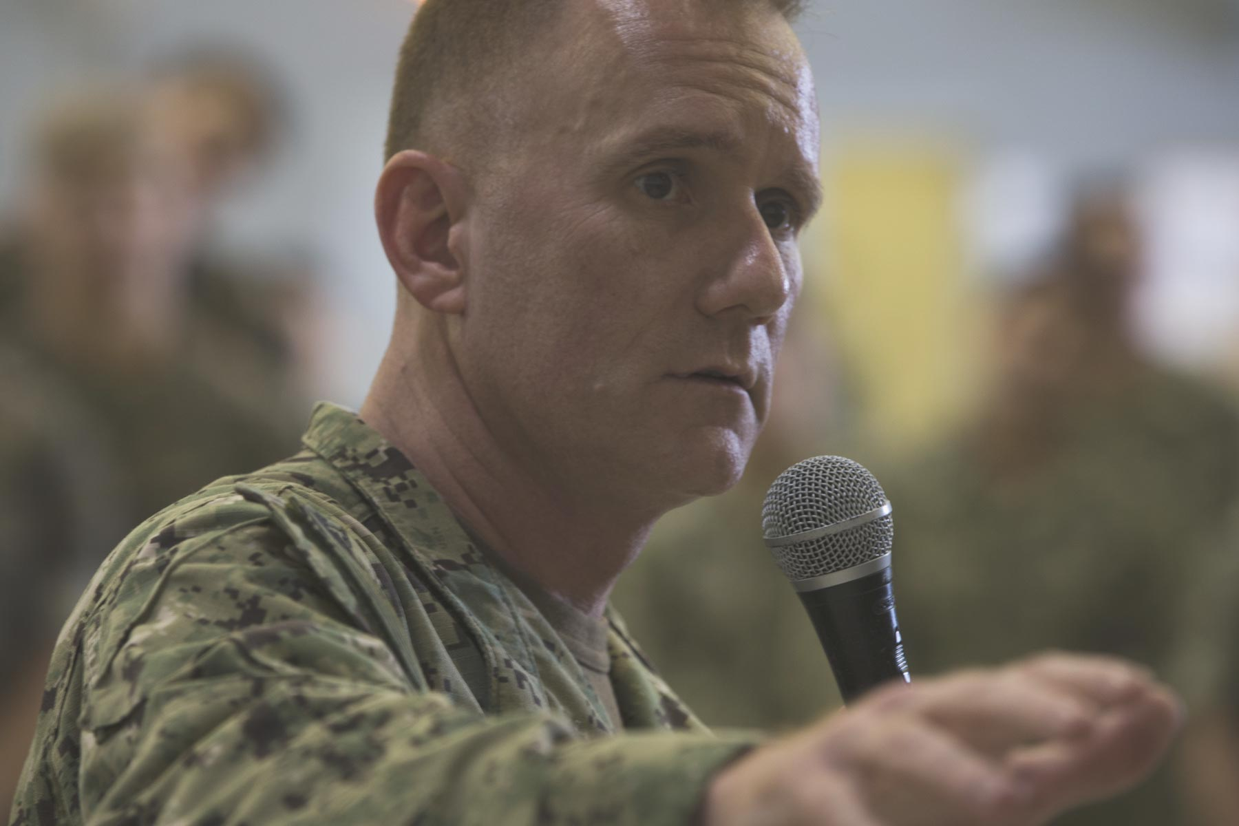 Navy's Senior Enlisted Leader Steps Down Amid Reports of Toxic Leadership