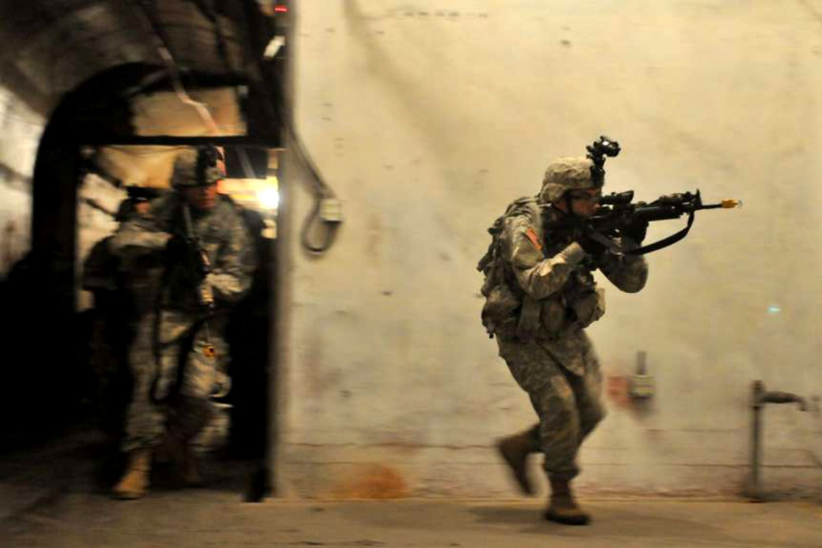 Army is Spending Half a Billion to Train Soldiers to Fight Underground