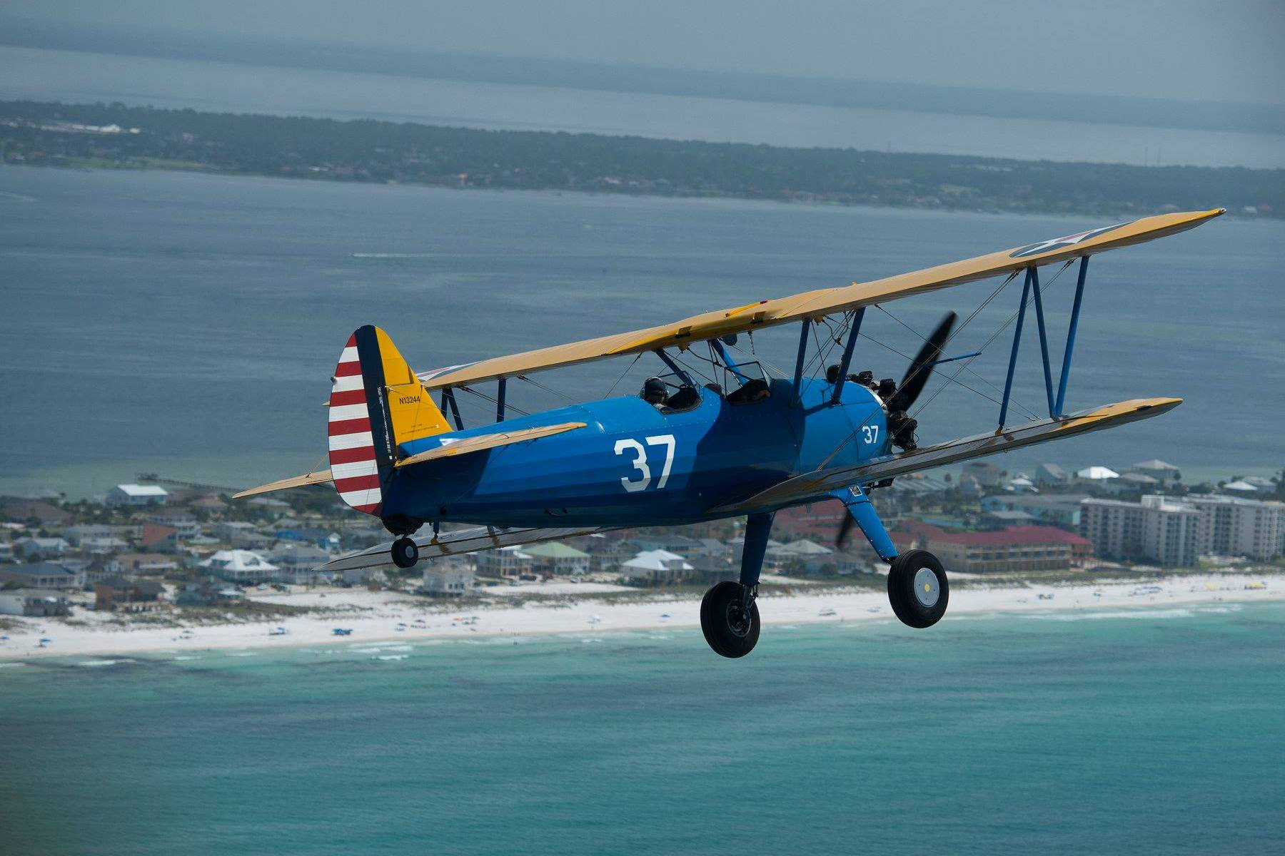 Wwii Vets Reunite With Beloved Biplanes Before Pensacola