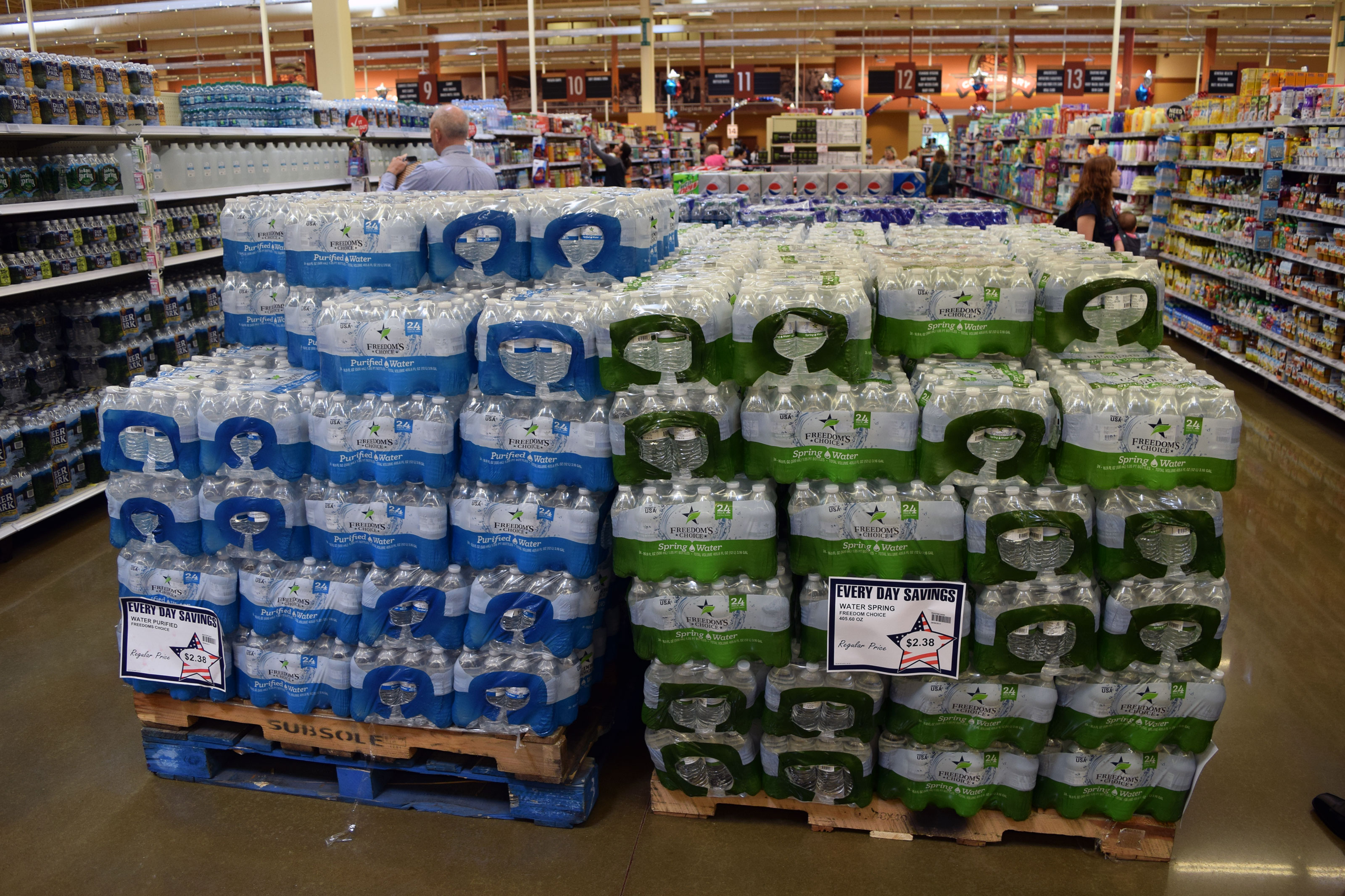 Commissary Recalls Its Bottled Water