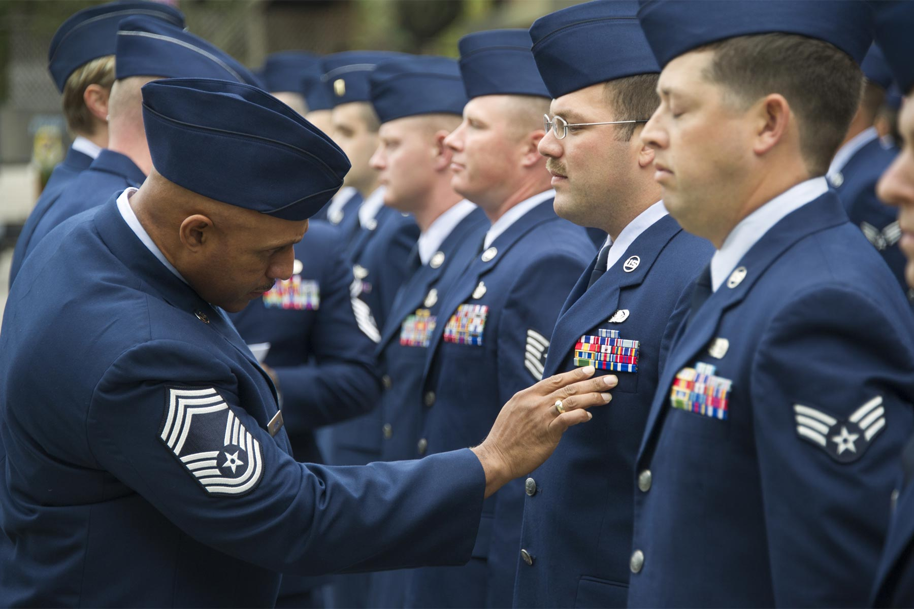 Air Force May Go Old School With Dress Blue Uniform Update