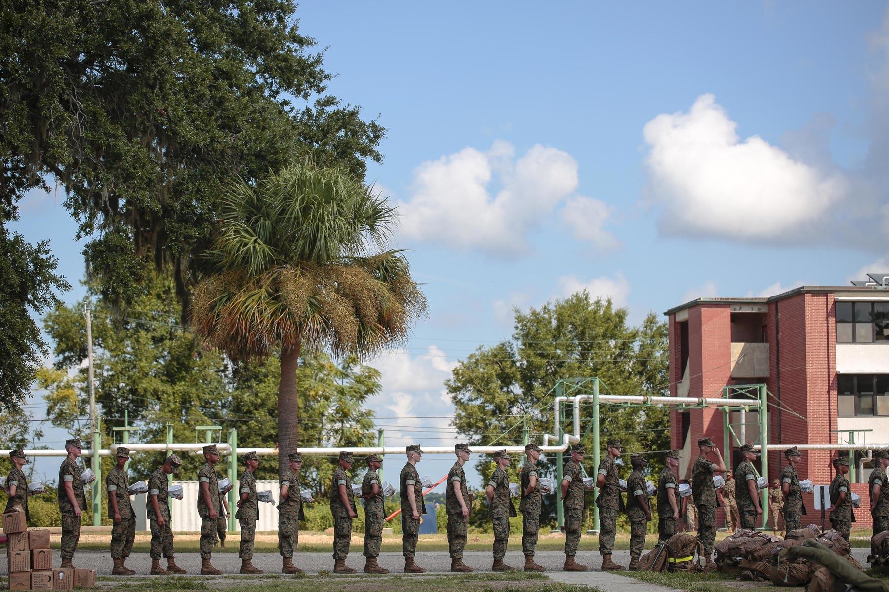 marines follow governor u0026 39 s lead  cancel parris island