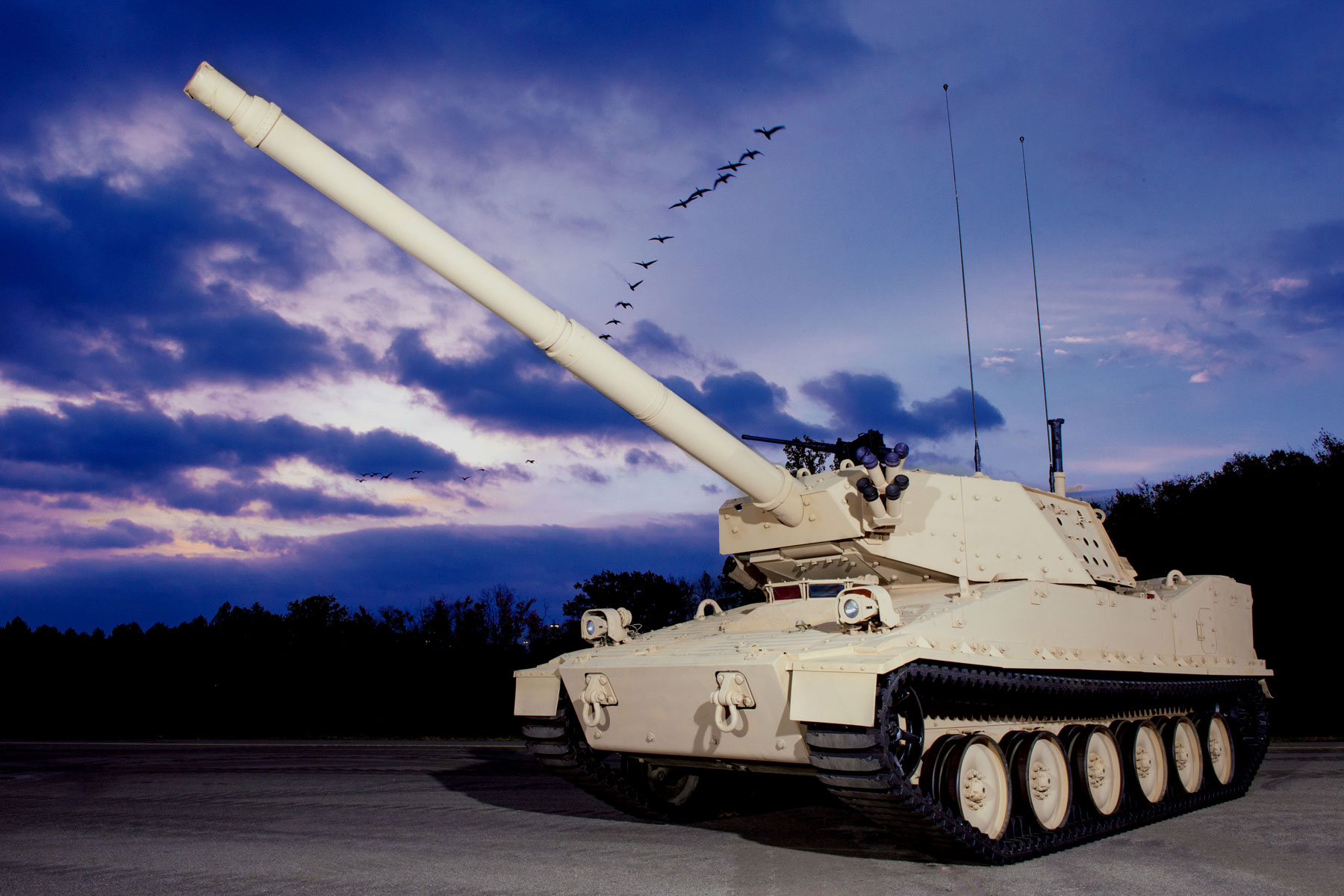 Army Taps Two Firms to Build Light Tank Prototypes for the Infantry