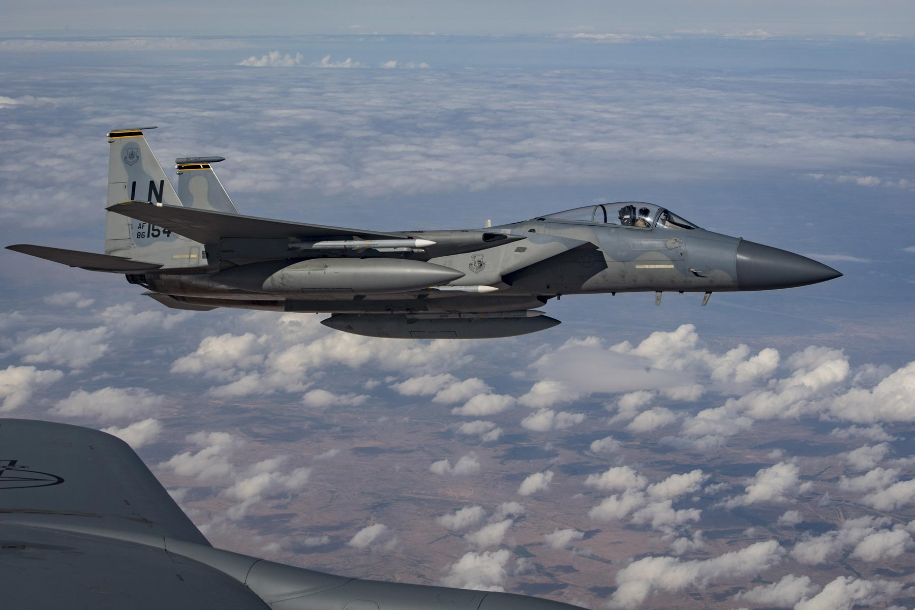 F 15c Takes Over Anti Isis Ops After F 22 Comes Home