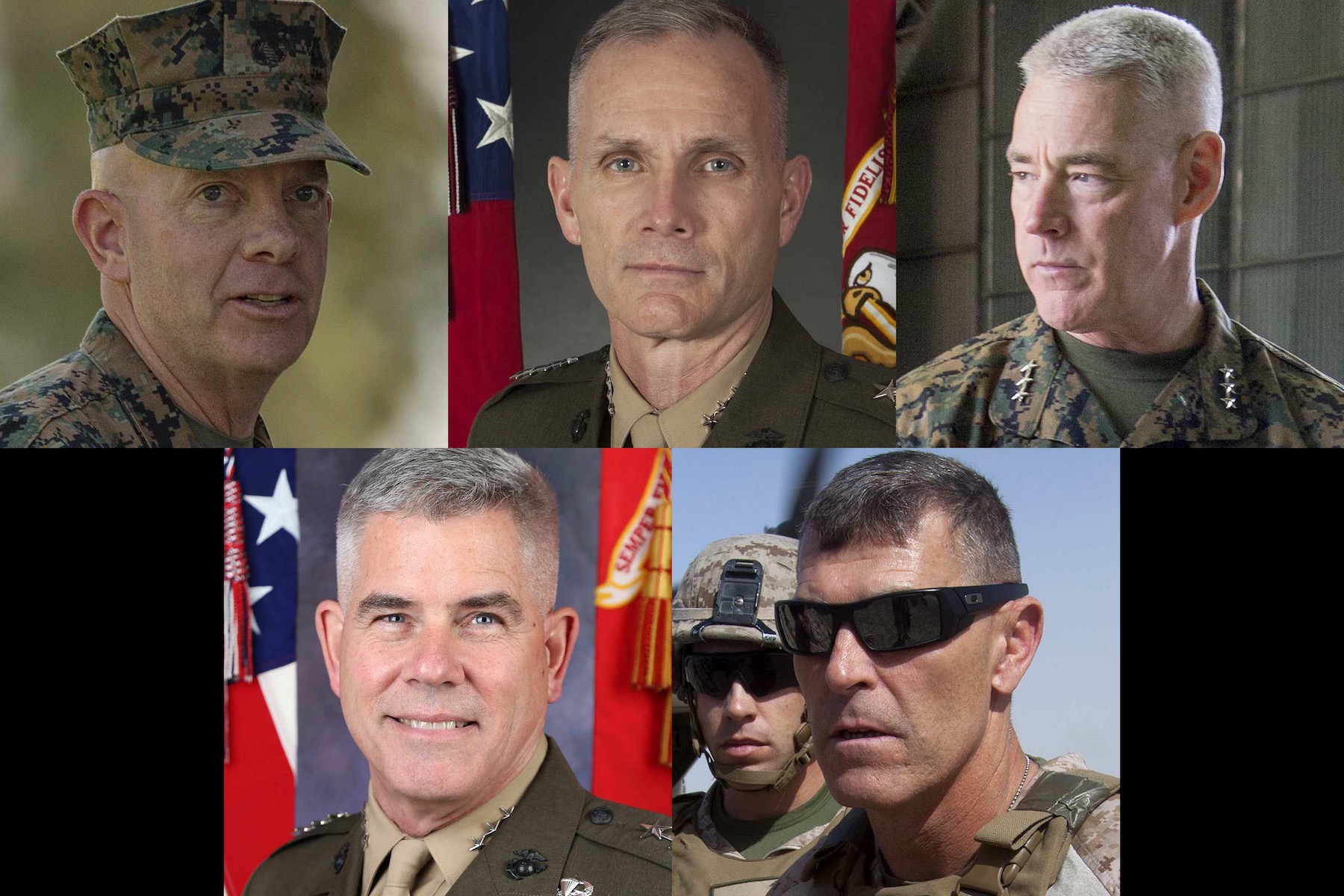 One of These 5 Marine Corps Generals Could Be the Next Commandant