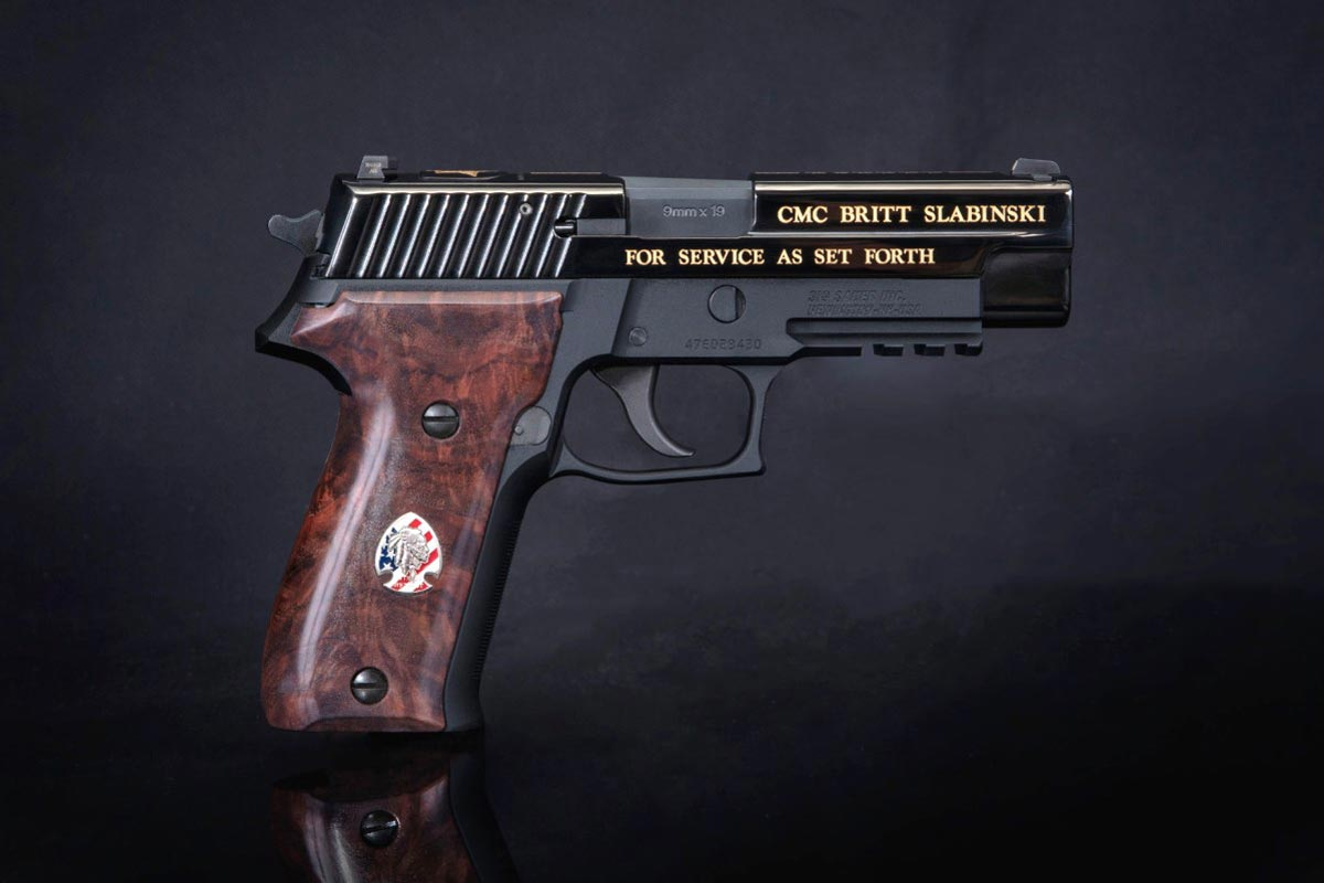 sig sauer honors navy seal hero with epic commemorative