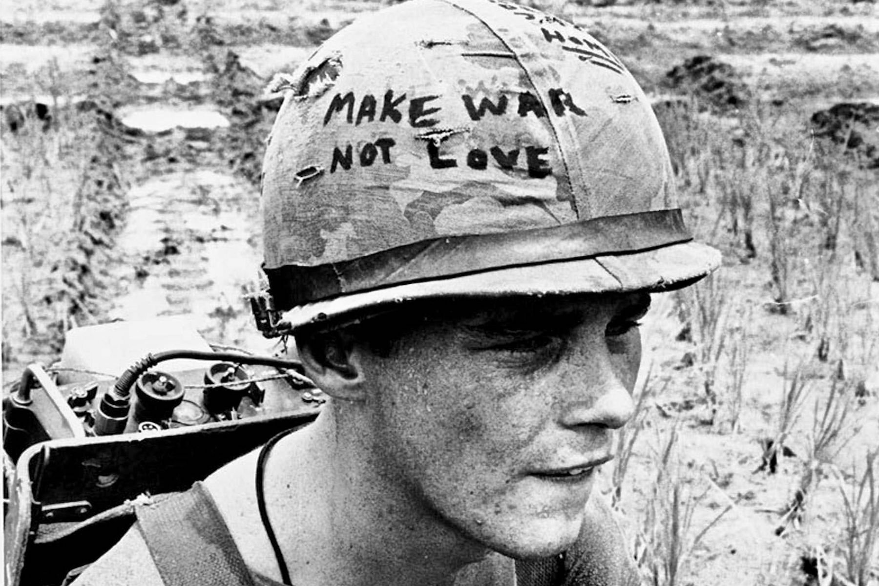 Why Troops In Vietnam Could Write On Their Helmets Military Com