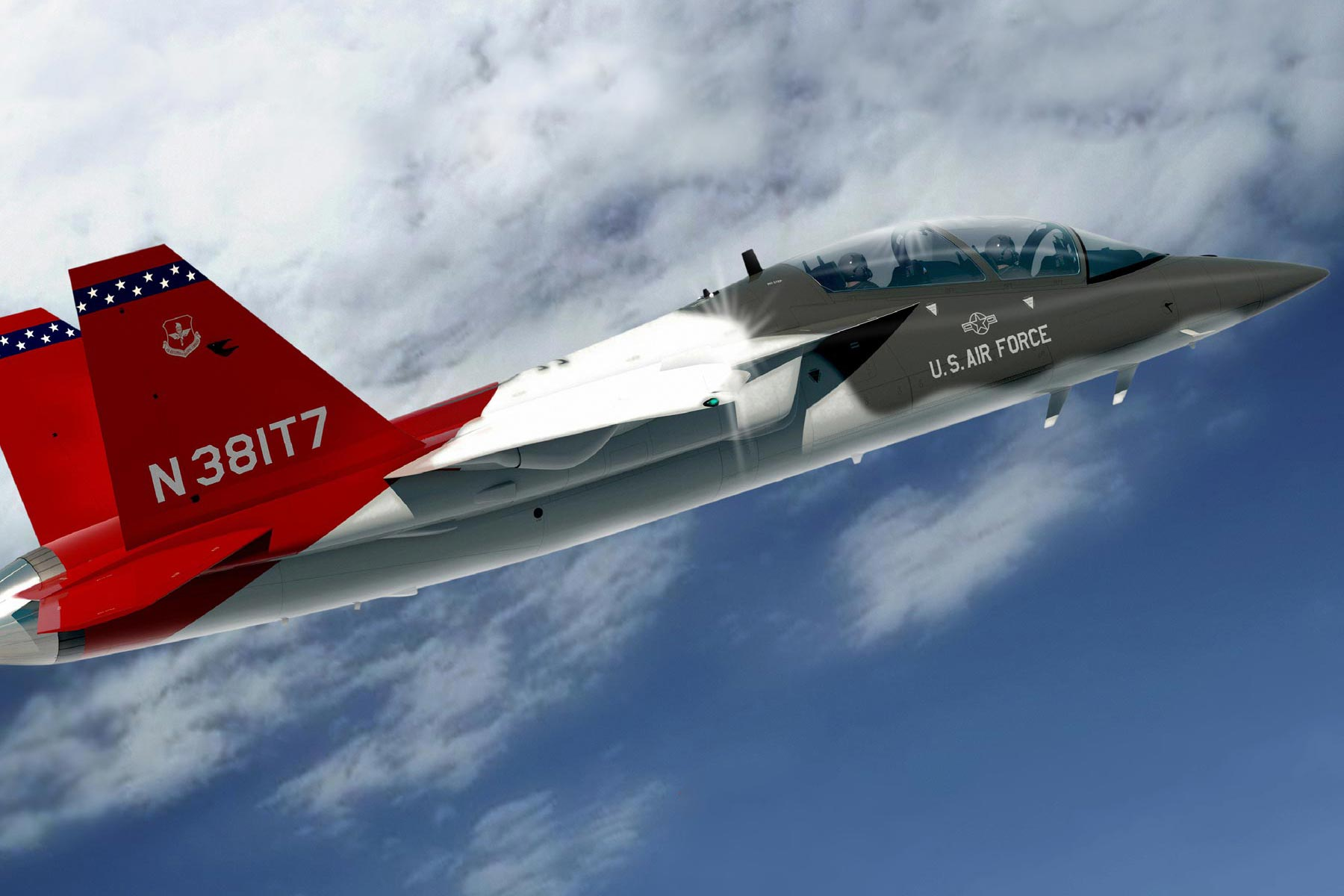 Air Force Names New Trainer Jet The T 7a Red Hawk In Honor