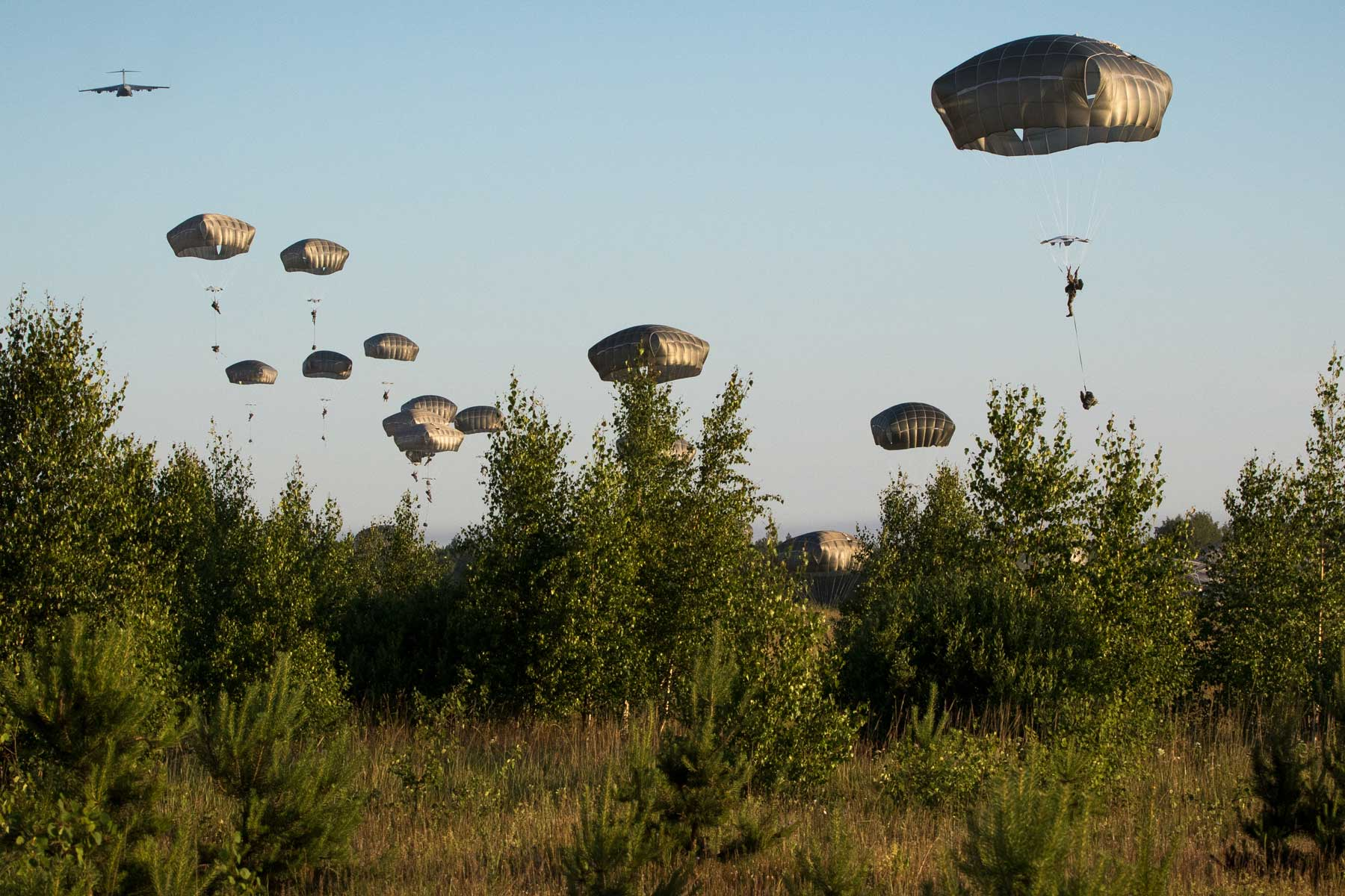 82nd Airborne Forces Will Jump into Europe for Forcible Entry Ops in Major Exercise