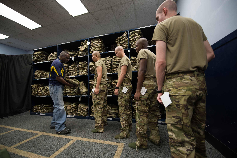 Air Force Recruits Start Receiving Ocp Uniform At Basic