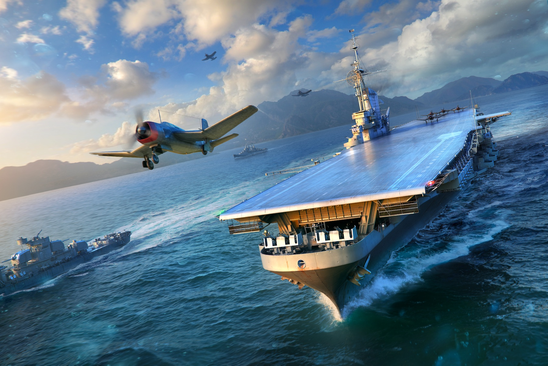 'World of Warships' Recreates the Battle of Midway