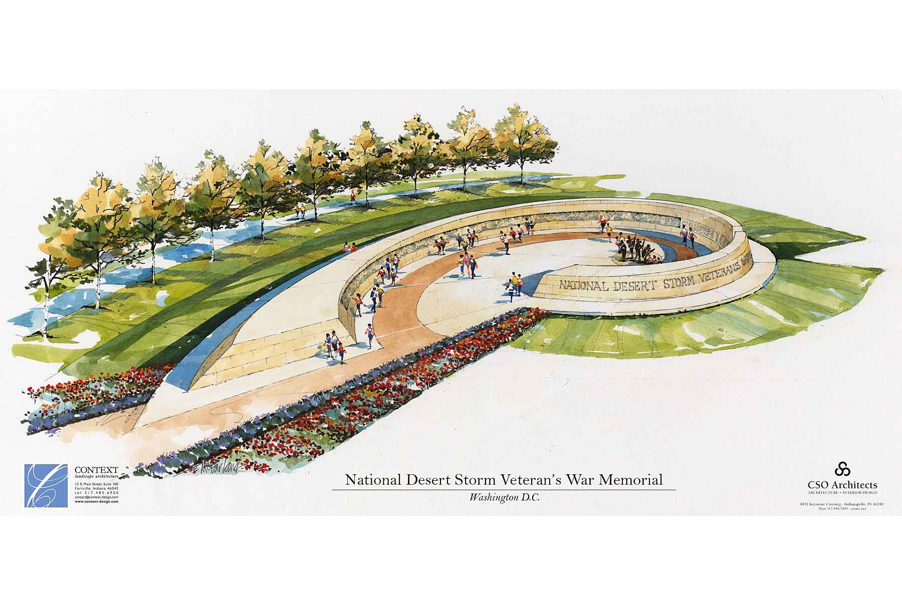 Design Approved for Gulf War Memorial on National Mall