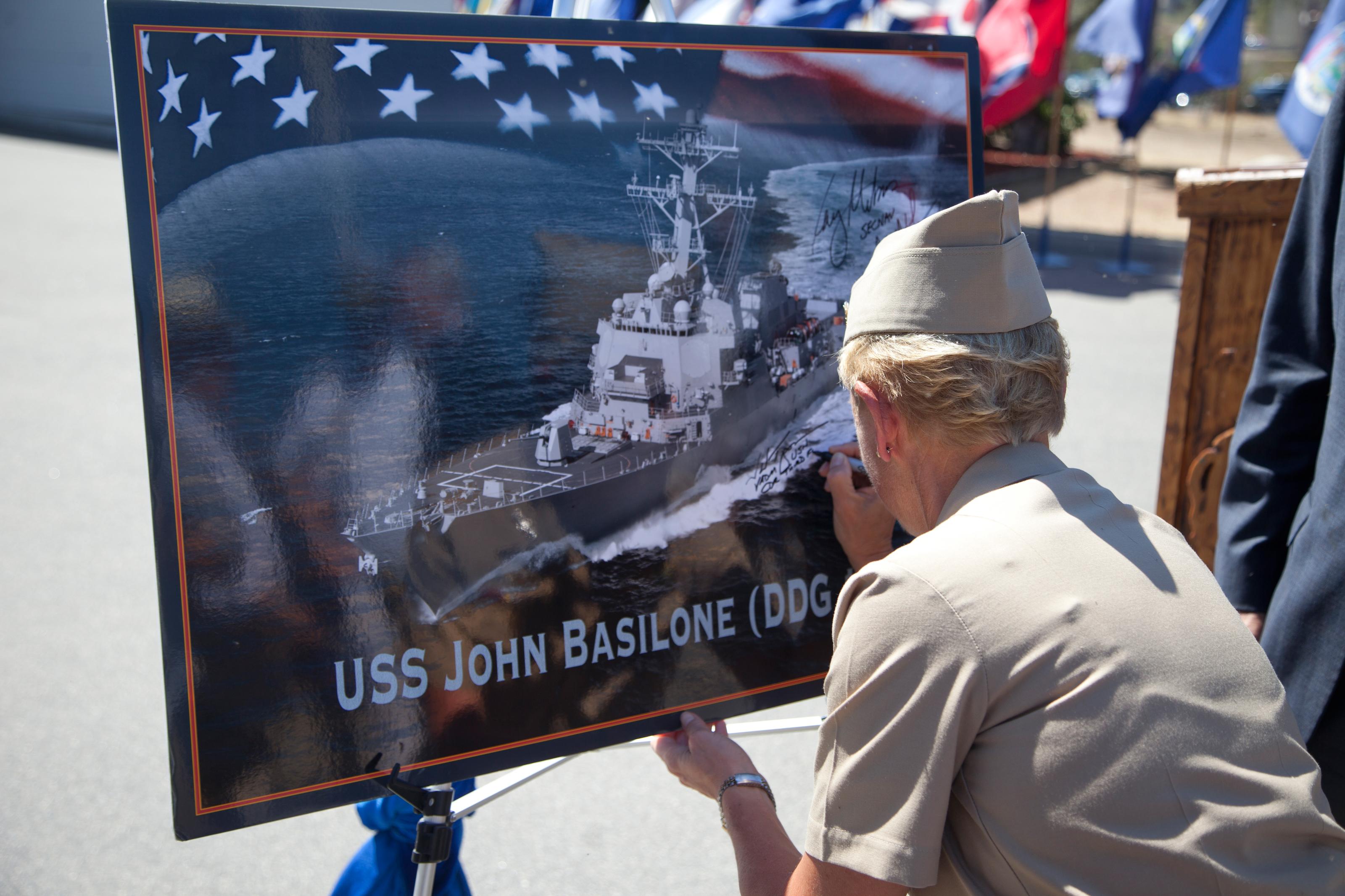 Keel Laid for Future Destroyer Named for World War II Hero
