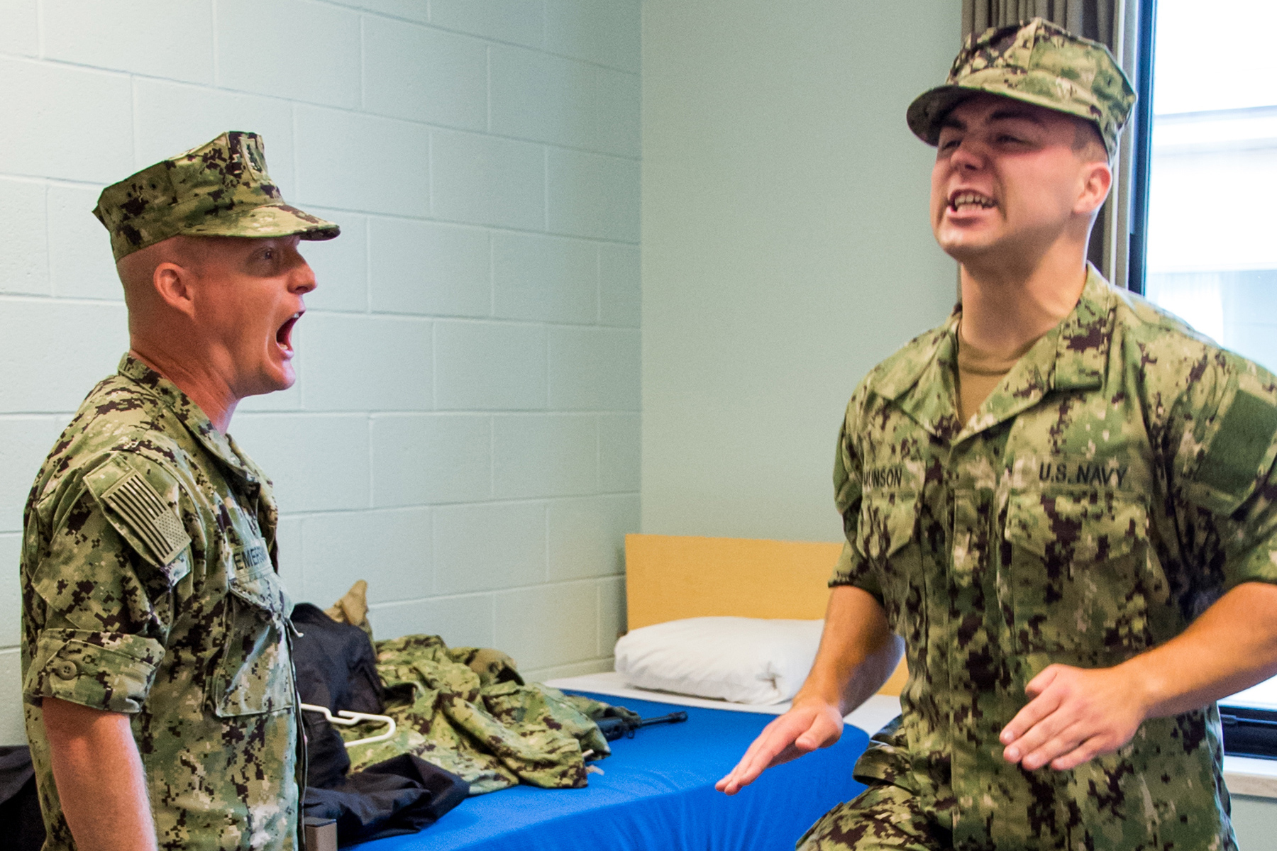 Navy Boot Camp Trainers Must Spend 90 Days Away from Families in Lockdown Measure