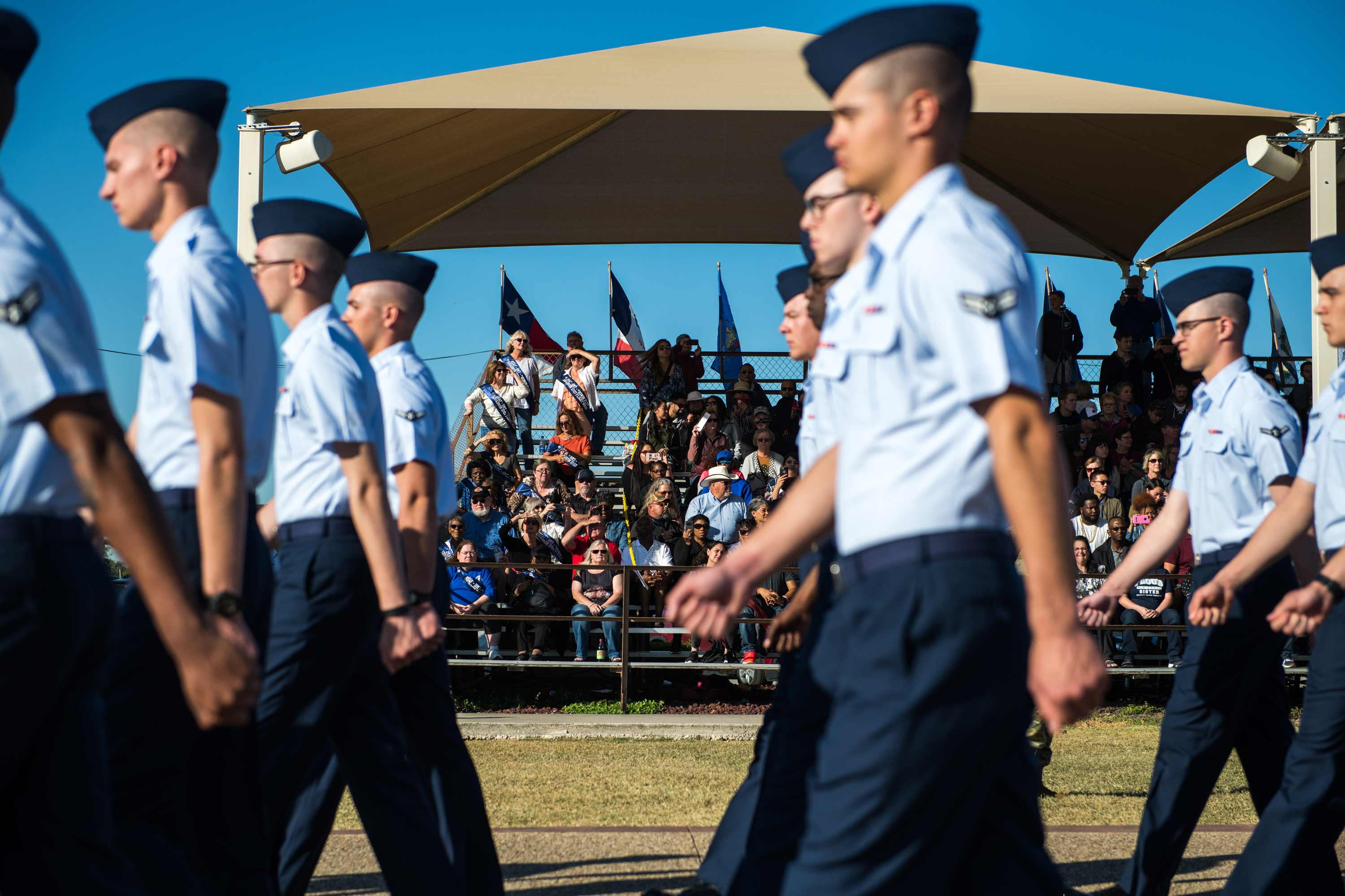 Air Force Blocks Families From Attending Recruit Training Graduations Military Com
