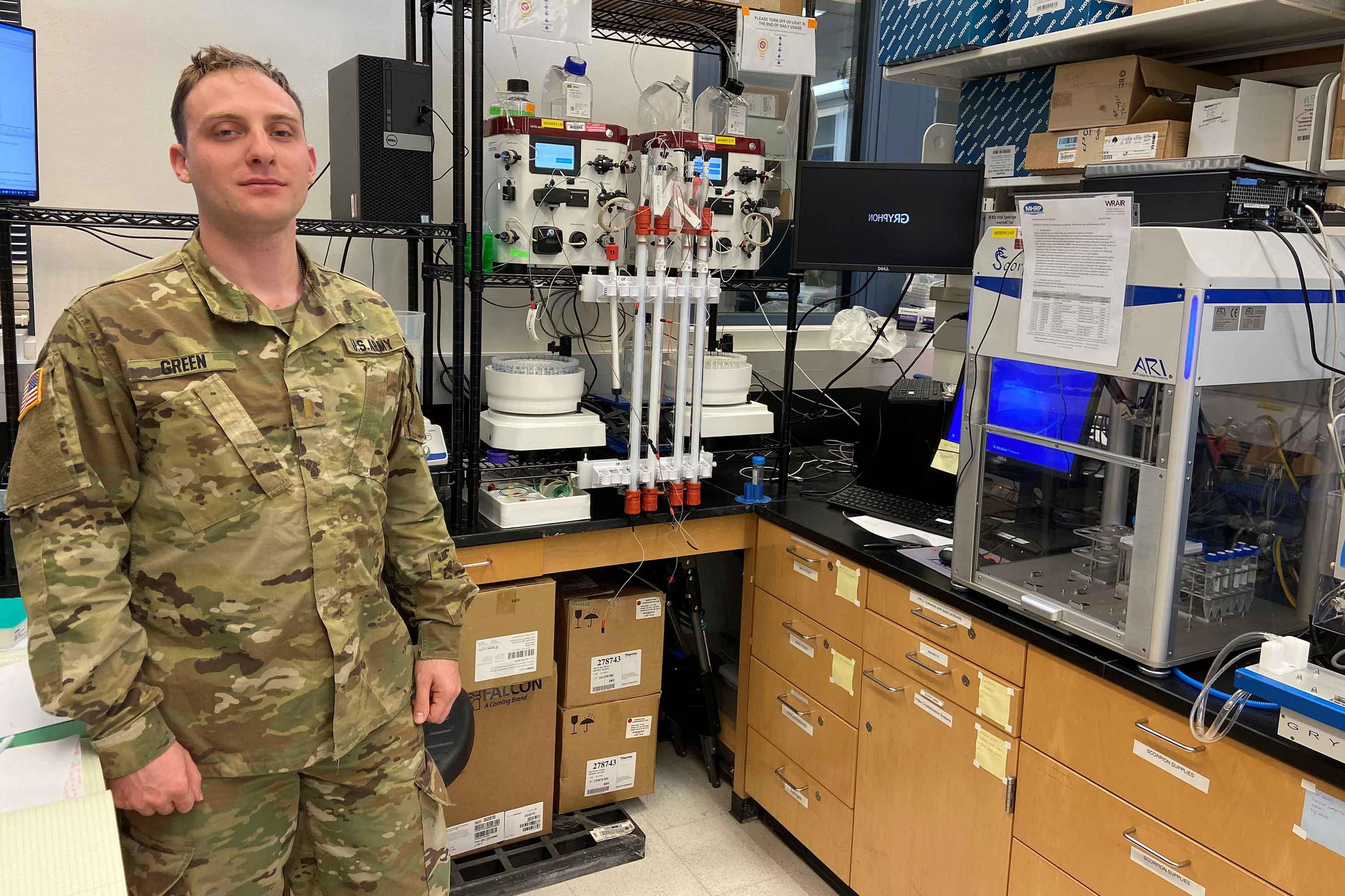 Meet the Army Lieutenant Racing to Develop a Coronavirus Vaccine