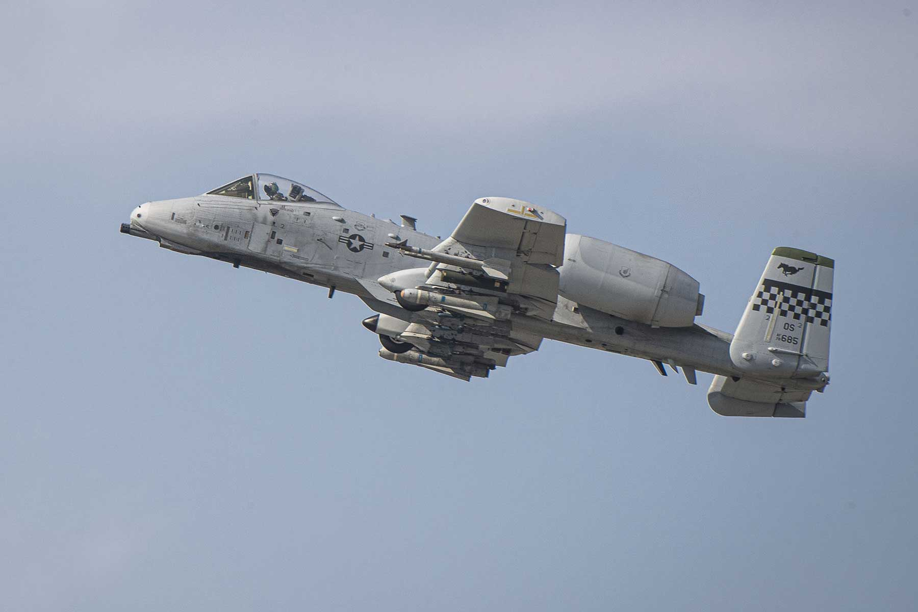 A-10 Accidentally Discharges Non-Explosive Munition Over South Korea