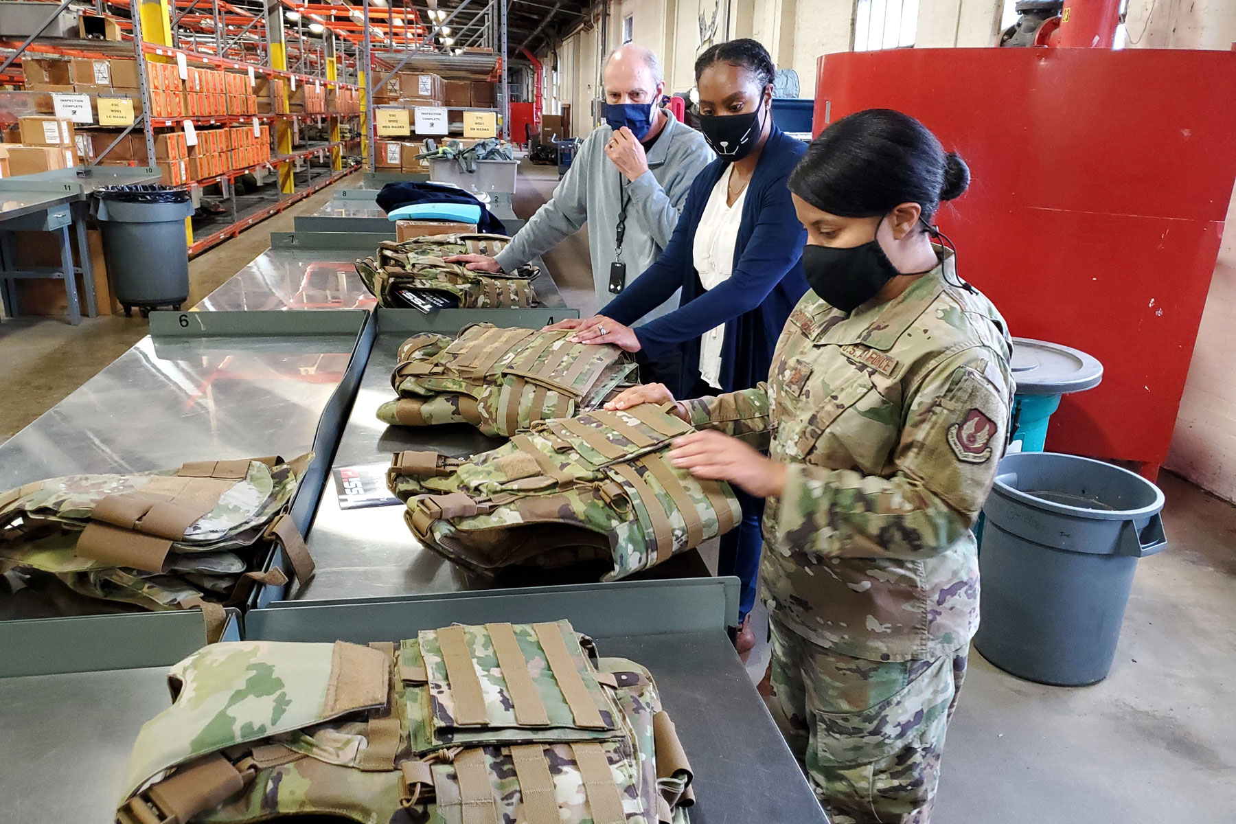 mil air force female body armor 1800.'