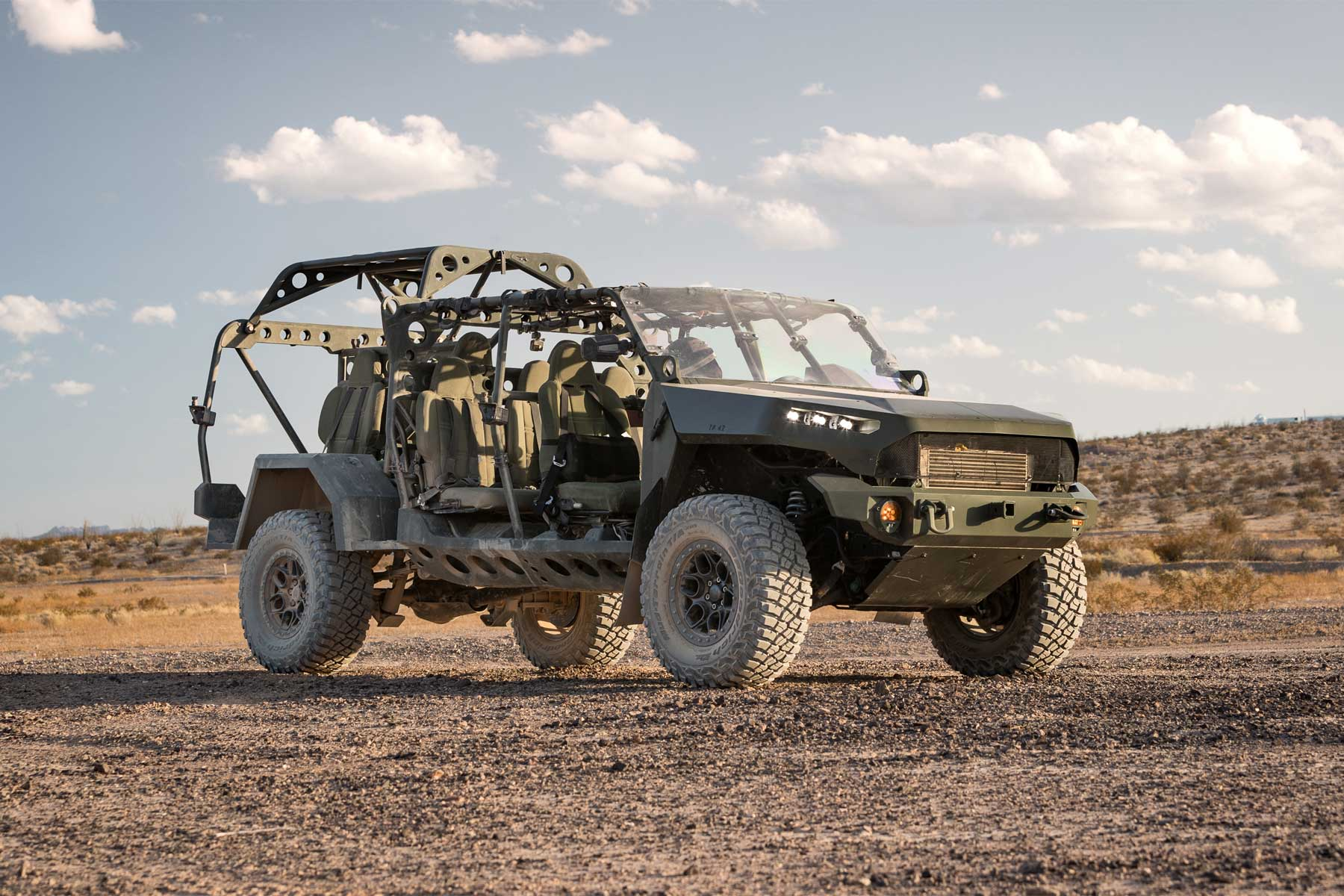 Army Receives First Infantry Squad Vehicles for Carrying Foot Soldiers into the Fight