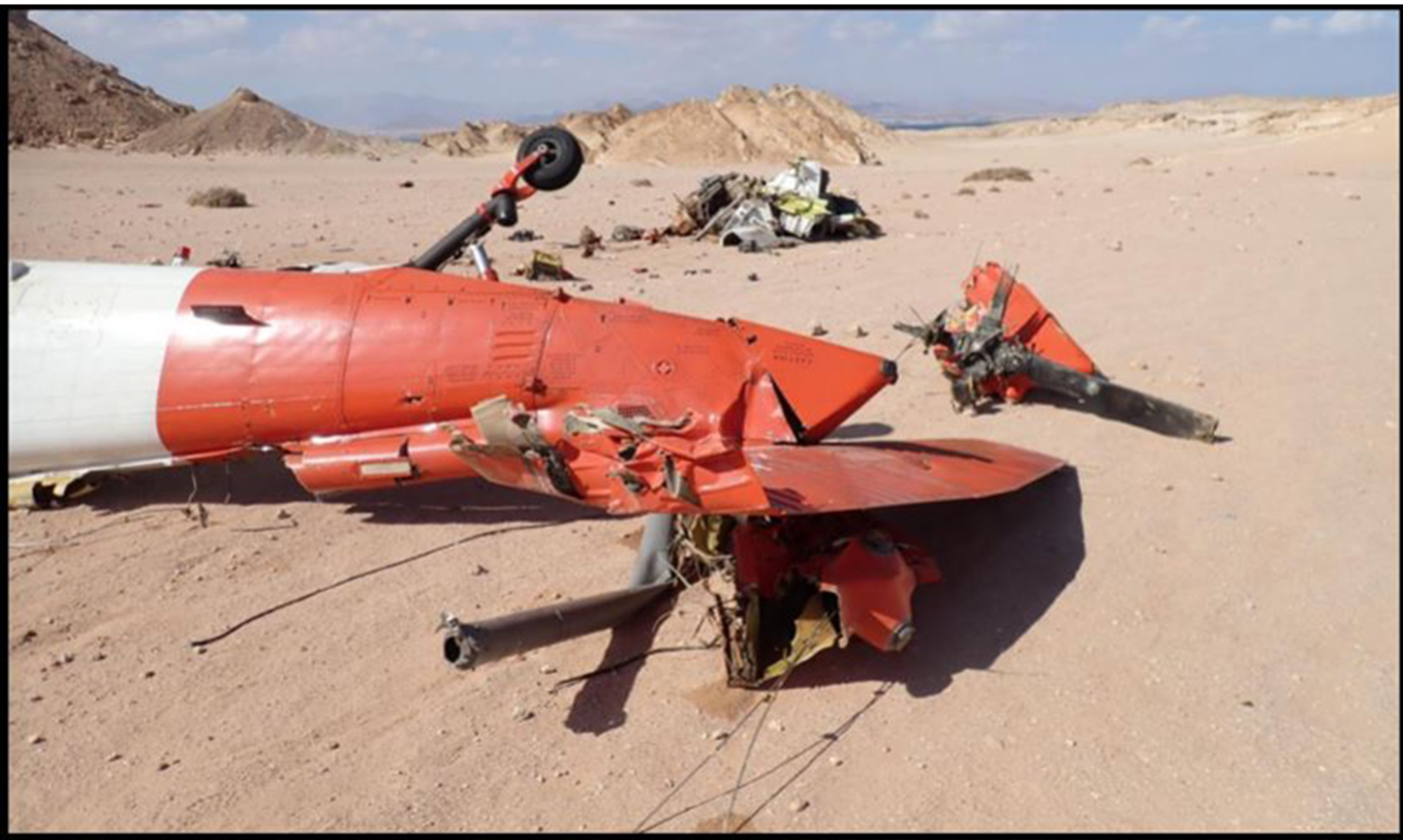 Documents Reveal New Details About Sinai Peninsula Crash That Killed 5 Soldiers