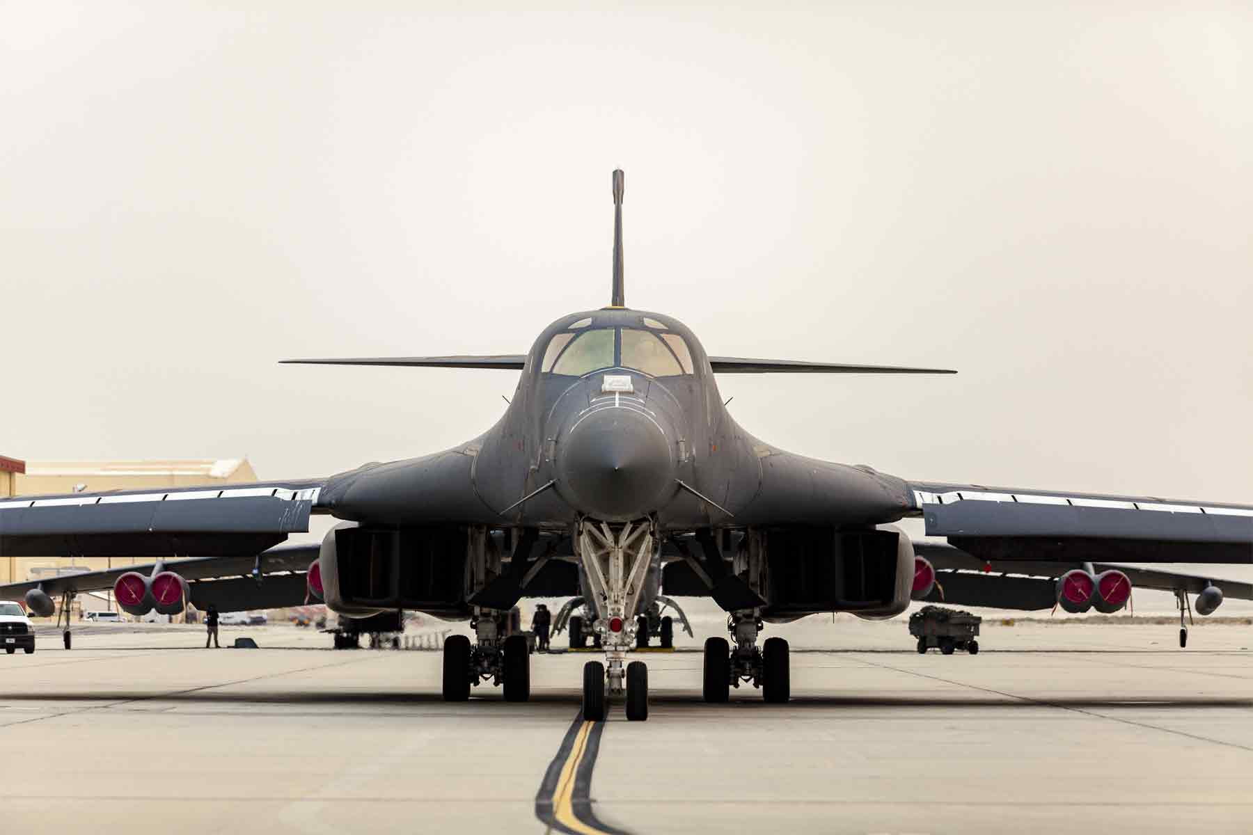 Last of 17 Retired B-1s Sent to Boneyard as Air Force Preps for B-21s