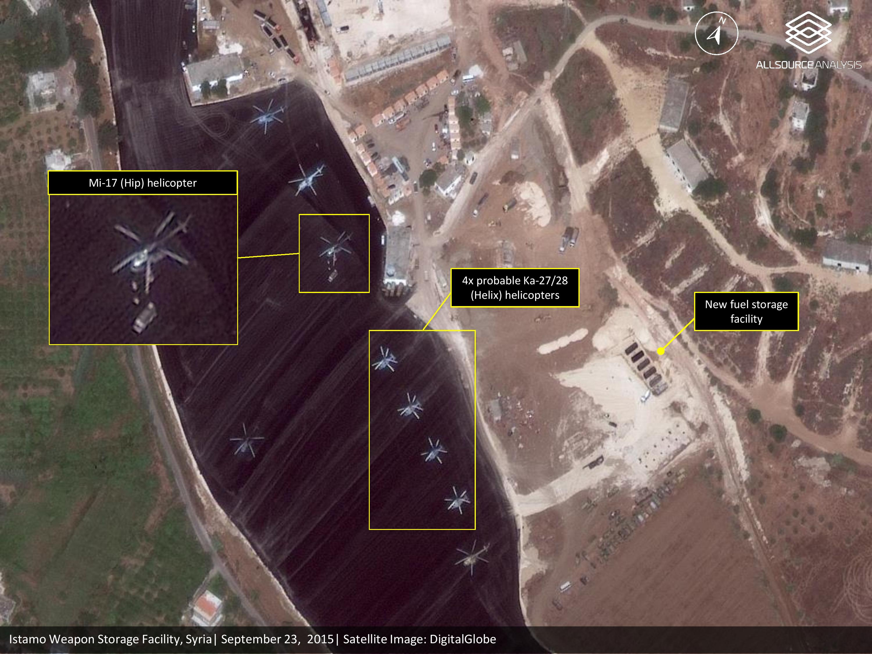 Satellite Imagery Shows Russian Military Expansion In