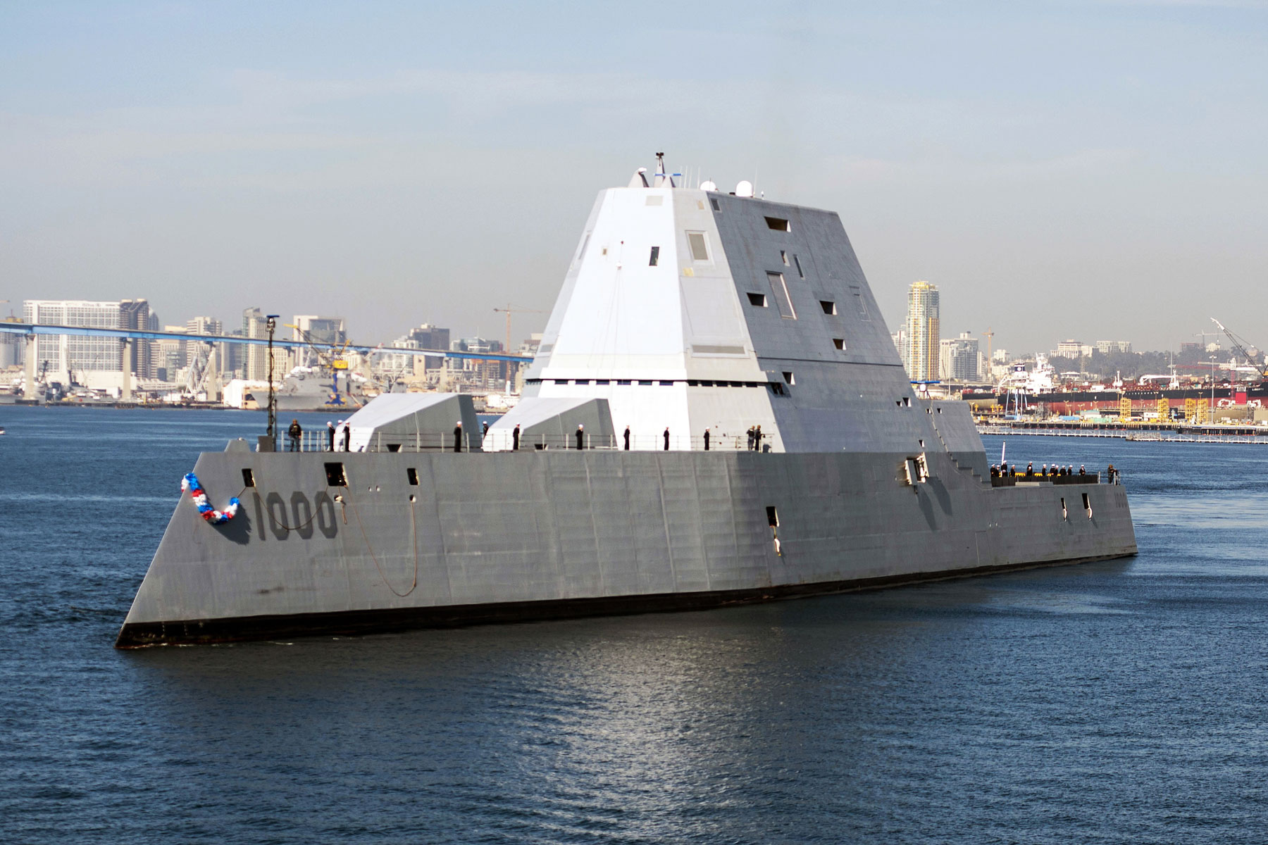 Navy's Stealthy Mega-Destroyer Still Doesn't Have a Round for Its Gun