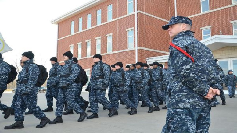 Navy Getting Rid Of Blueberries Camouflage Uniform