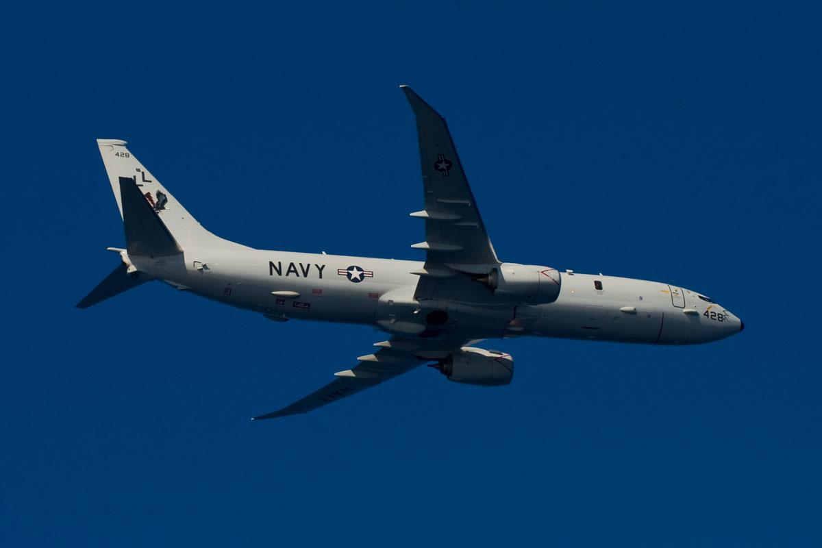 Risultato immagini per USNavy Boeing P-8A