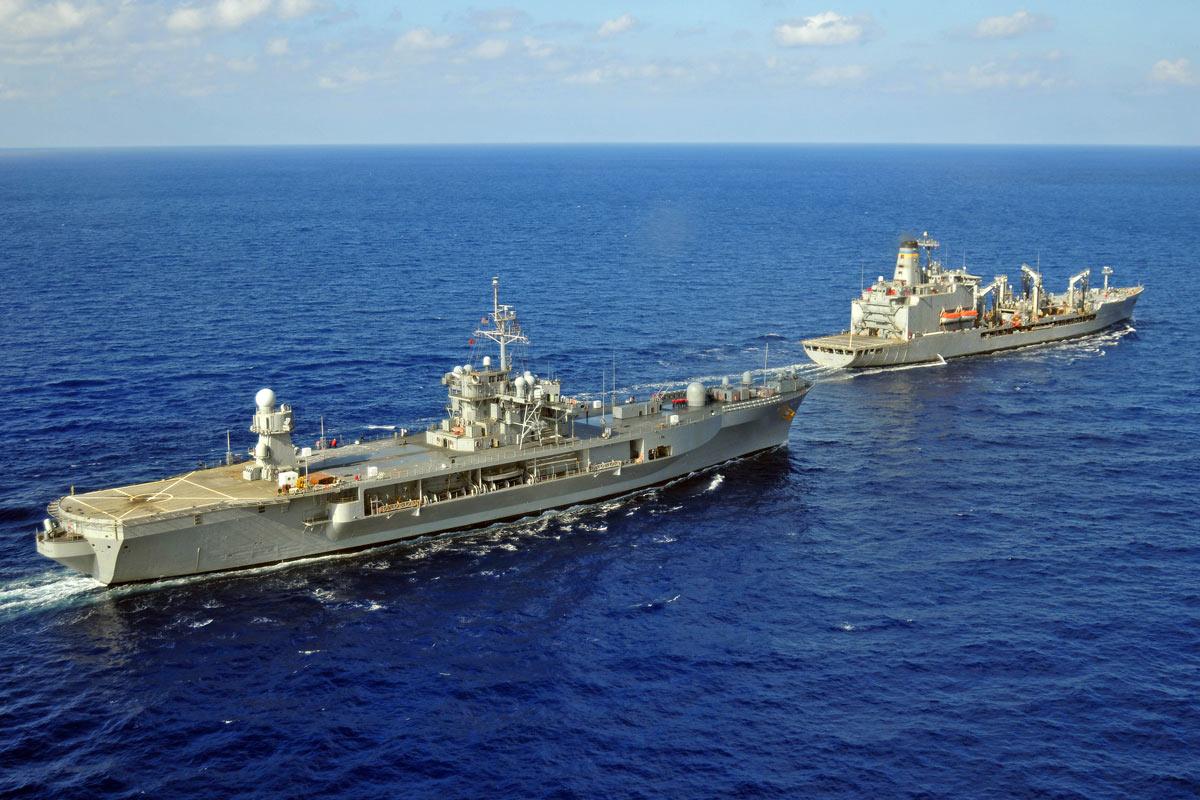 blue ridge class amphibious command ship
