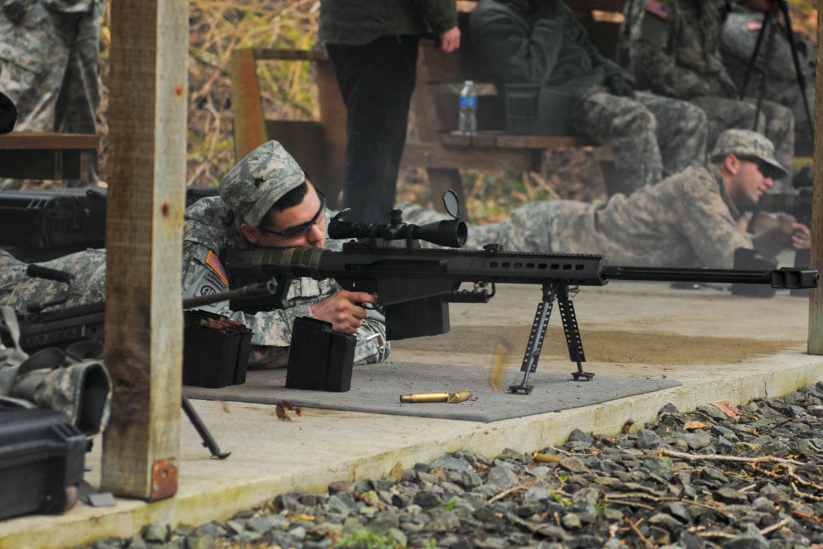 M107 50 Caliber Sniper Rifle