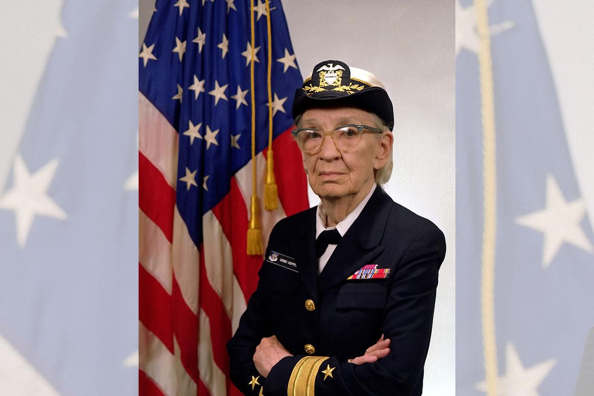 rear admiral grace murray hopper