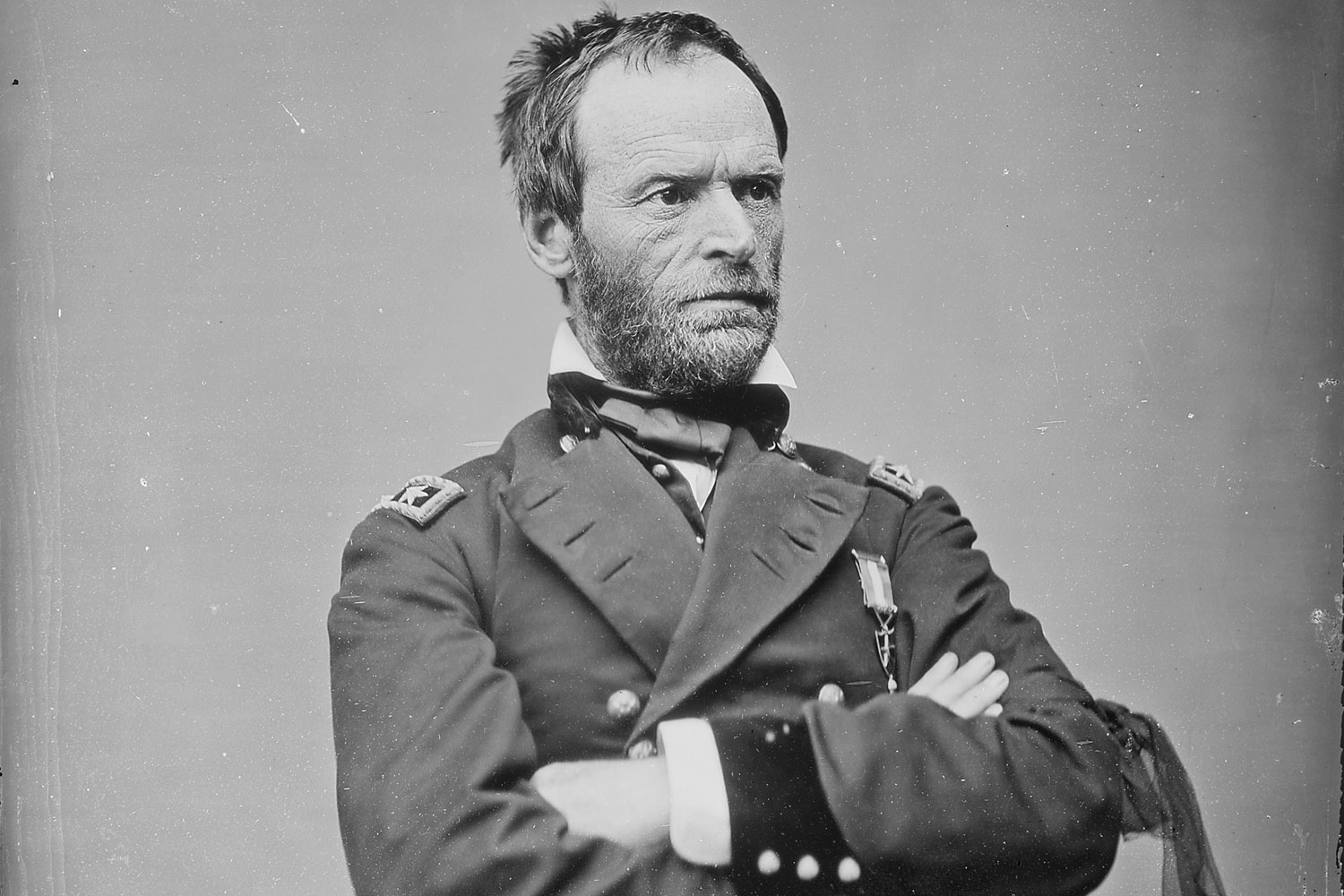 general william t sherman's innovations and Sherman's demons by michael fellman november 9  general william t sherman insane just after his participation in the civil war had begun.