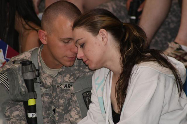 Marrying a military man