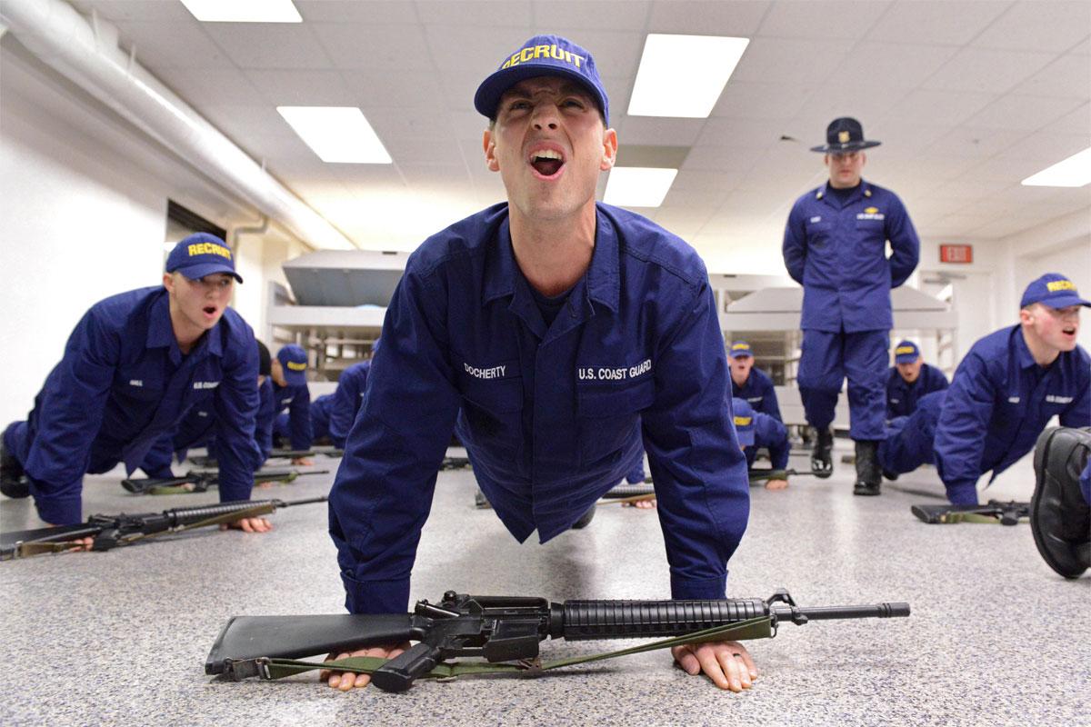 coast guard fitness requirements military com