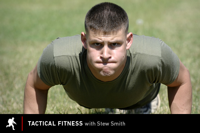 Tactical Fitness: Starting at Zero Pushups and Building Up