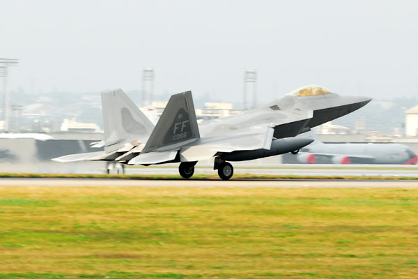 Welsh F 22 Flew To Drone S Rescue Off Iran Coast