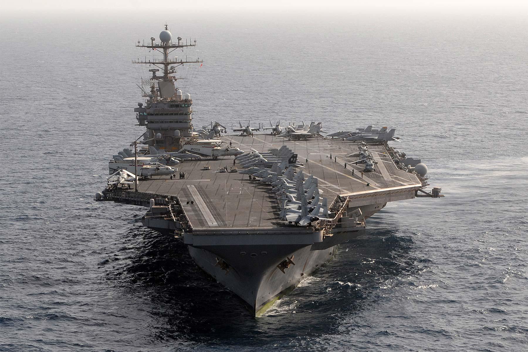 'Top Gun' Sequel Filming Aboard Aircraft Carrier USS Abraham Lincoln