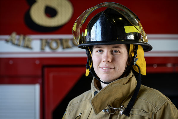 equality motivates air force firefighter