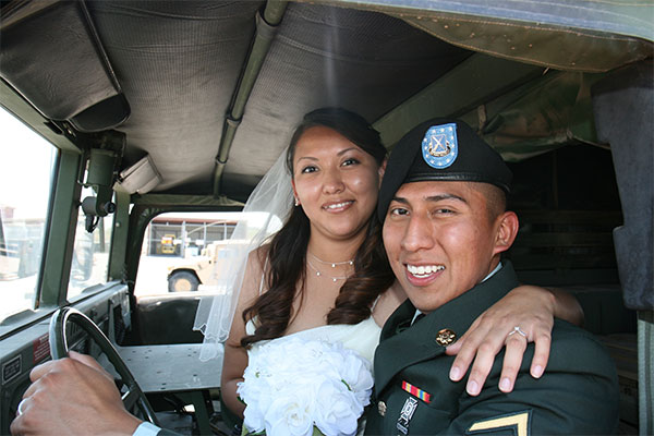 dating a married military man
