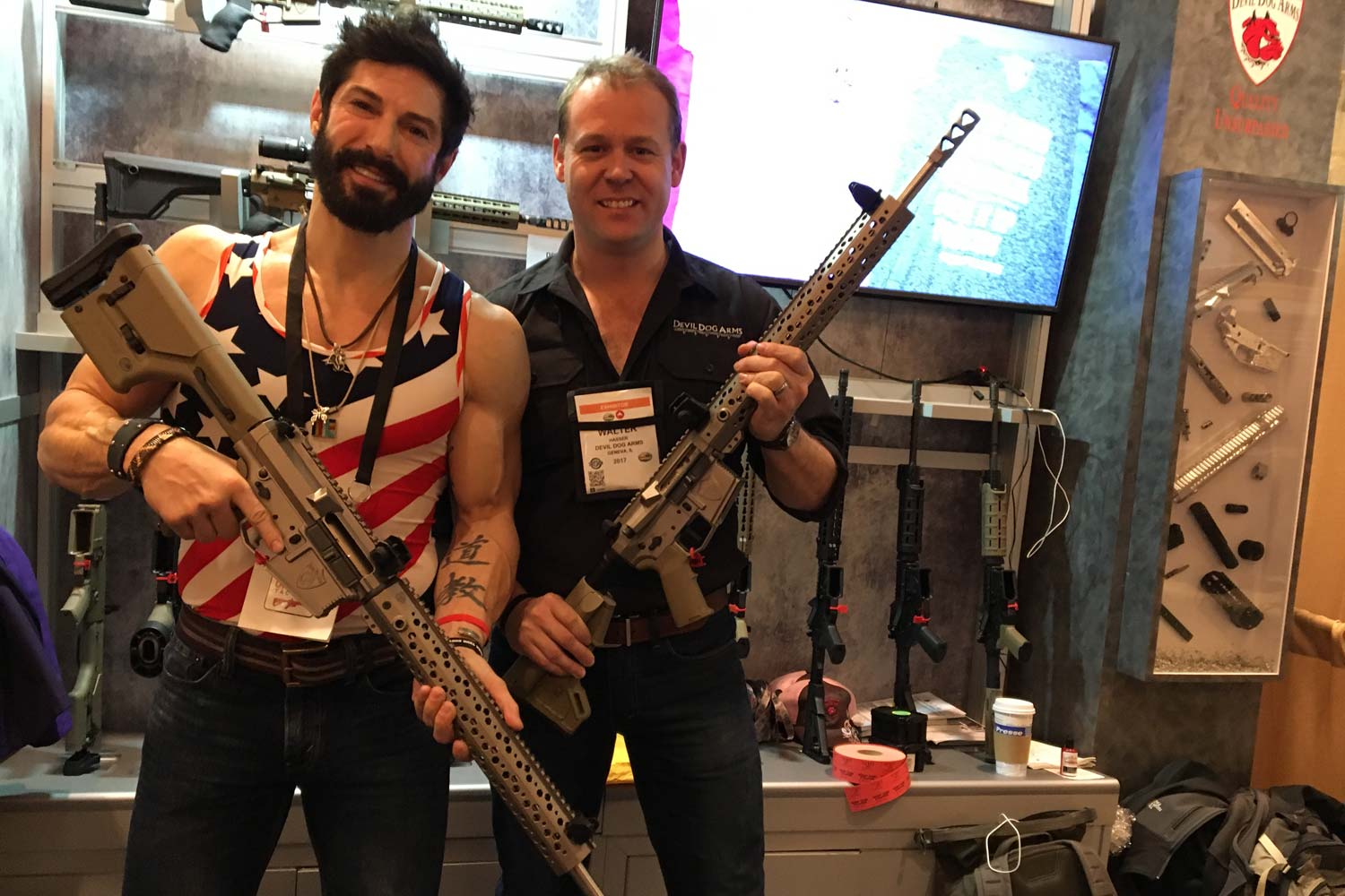 After Stolen Valor Scandal Gun Company Returns With