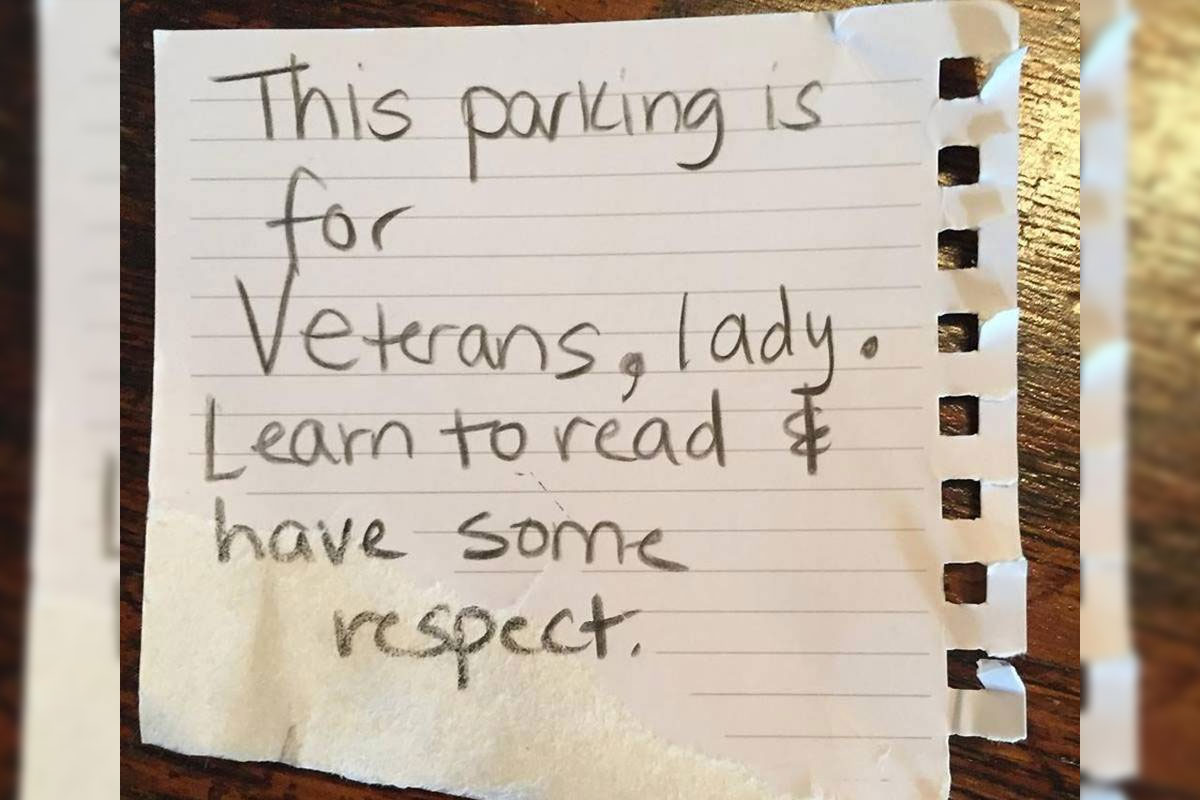 Navy Vet Says She Got Apology Note