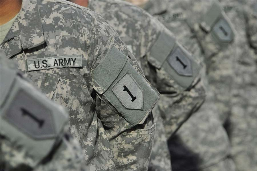 Army To Deploy 1st Infantry Division Soldiers To Iraq Militarycom - Us-army-88m