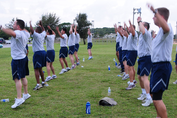 New Air Force Basic Training Fitness Standards | Military com